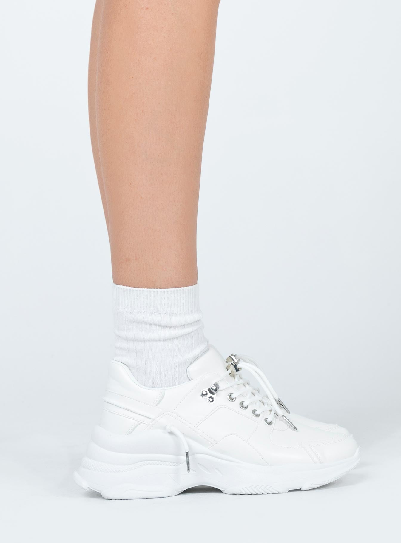 Eye Spy Sneaker White
