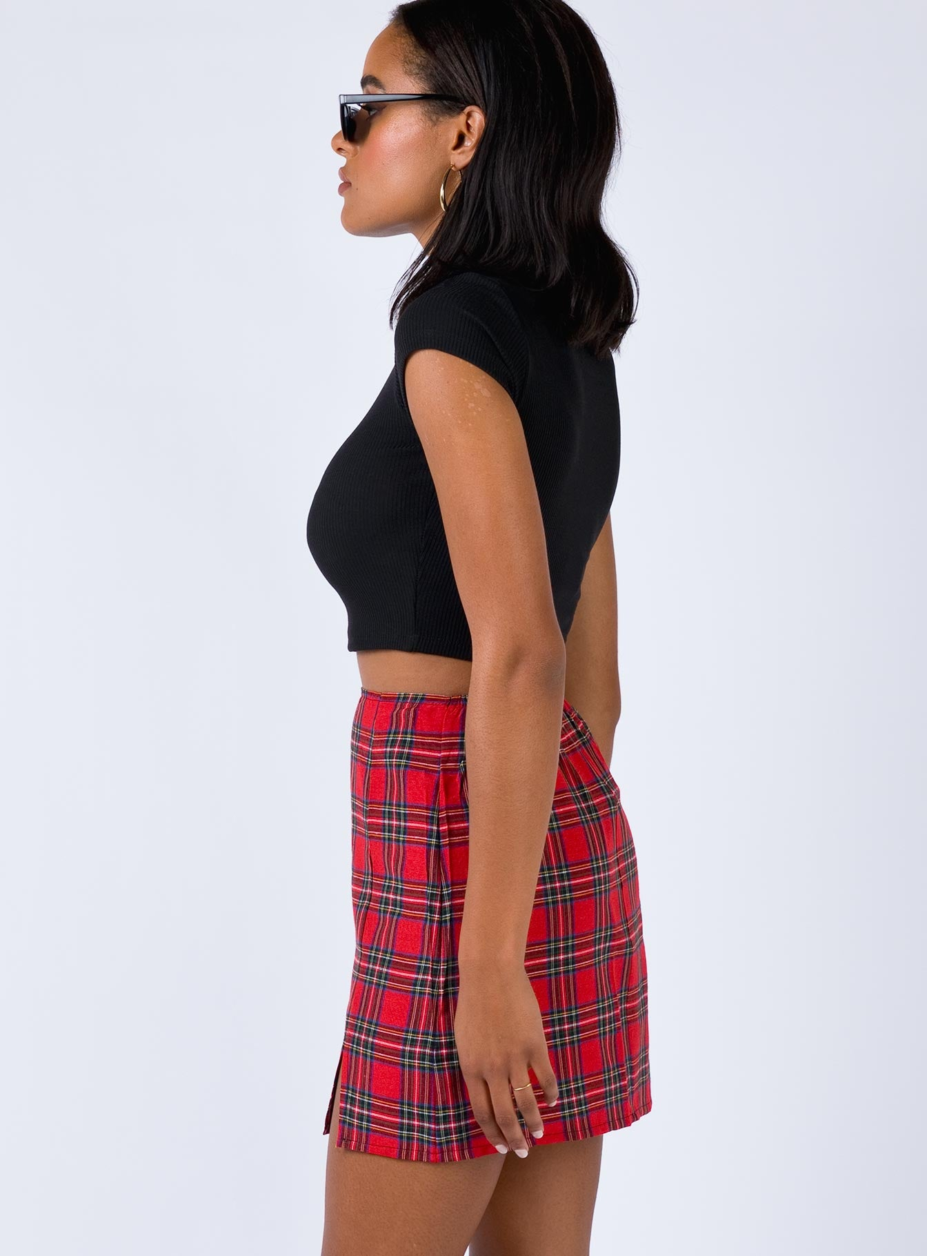 Ness Mini Skirt Red