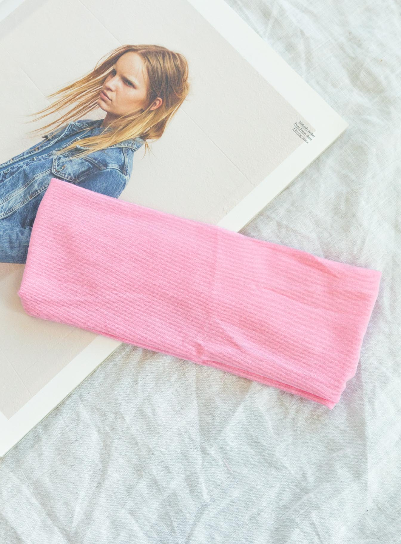 The Juney Headband Pink