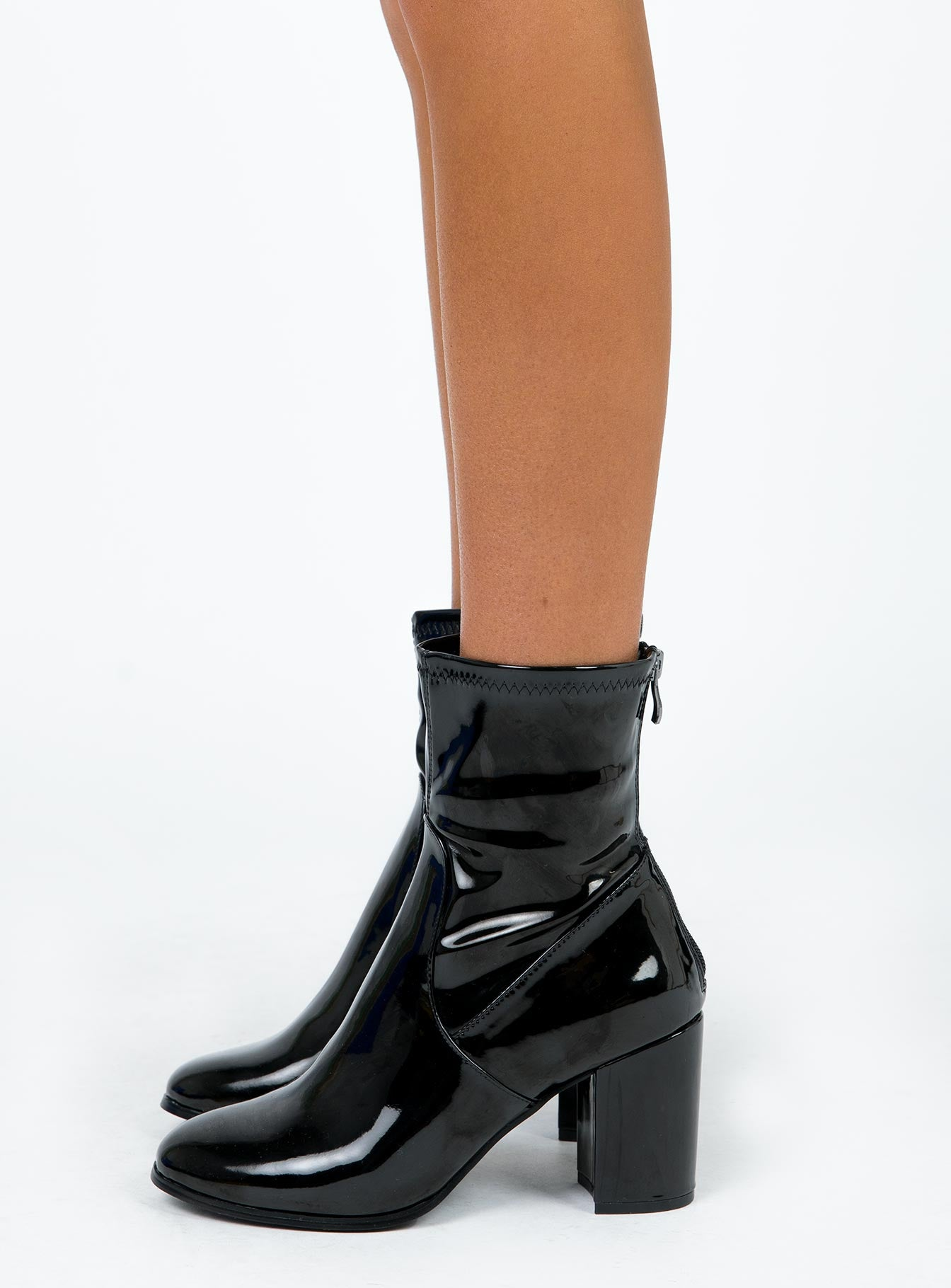 Therapy Black Liquid Hoxton Boots