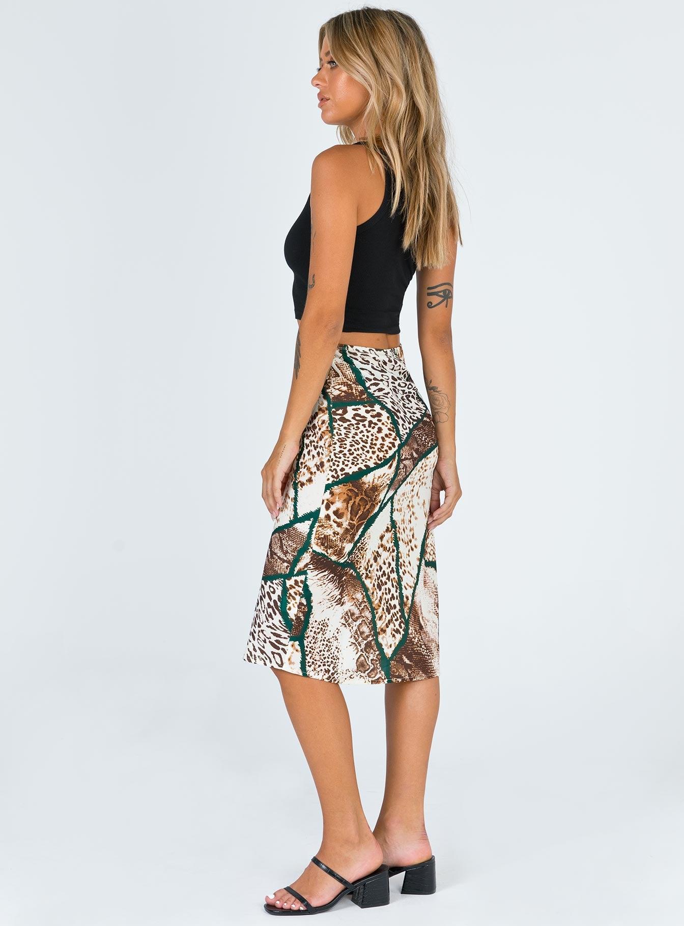 Chapel Lane Midi Skirt
