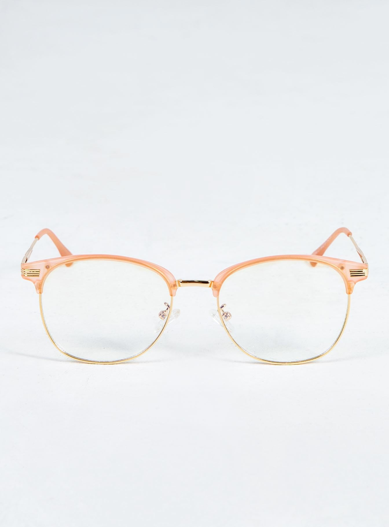 Dayze Blue Light Glasses Rose Gold