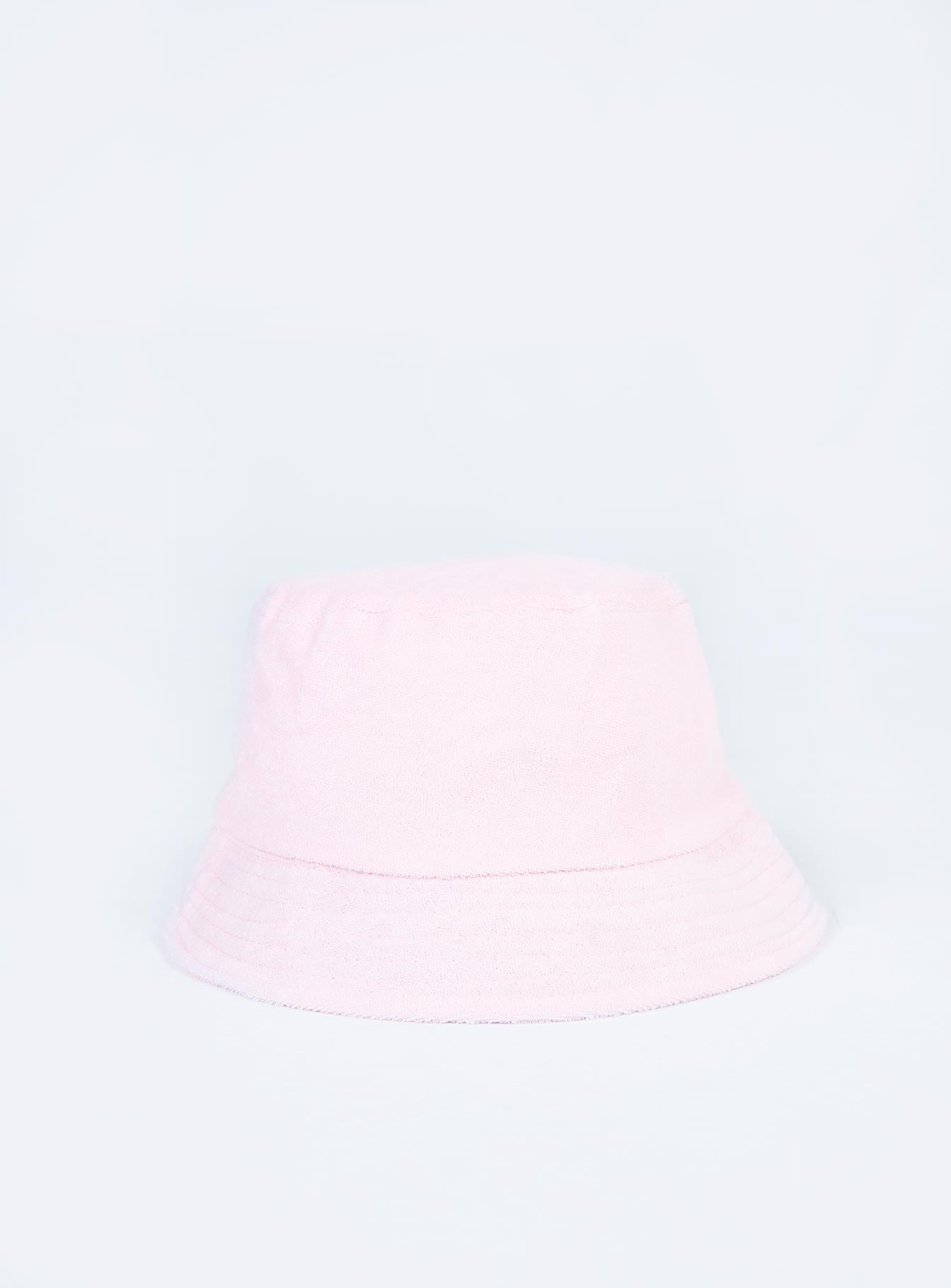 Trixy Toweling Bucket Hat Baby Pink