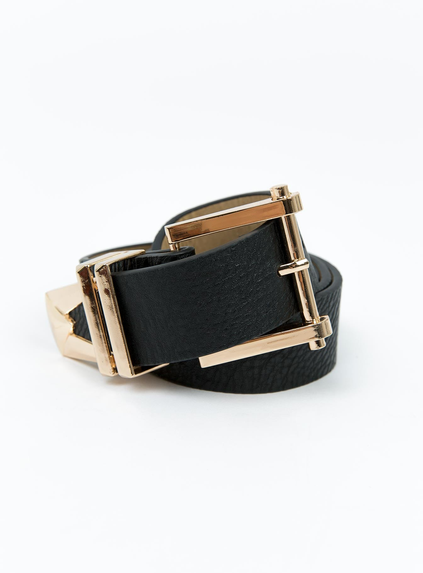 The Drifters Belt Black/Gold