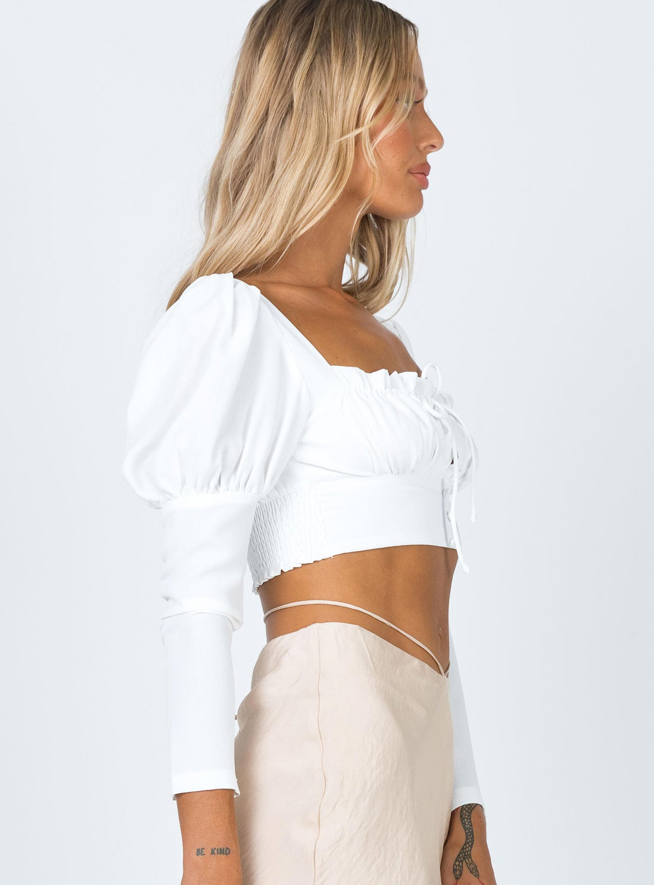 Maise Top White
