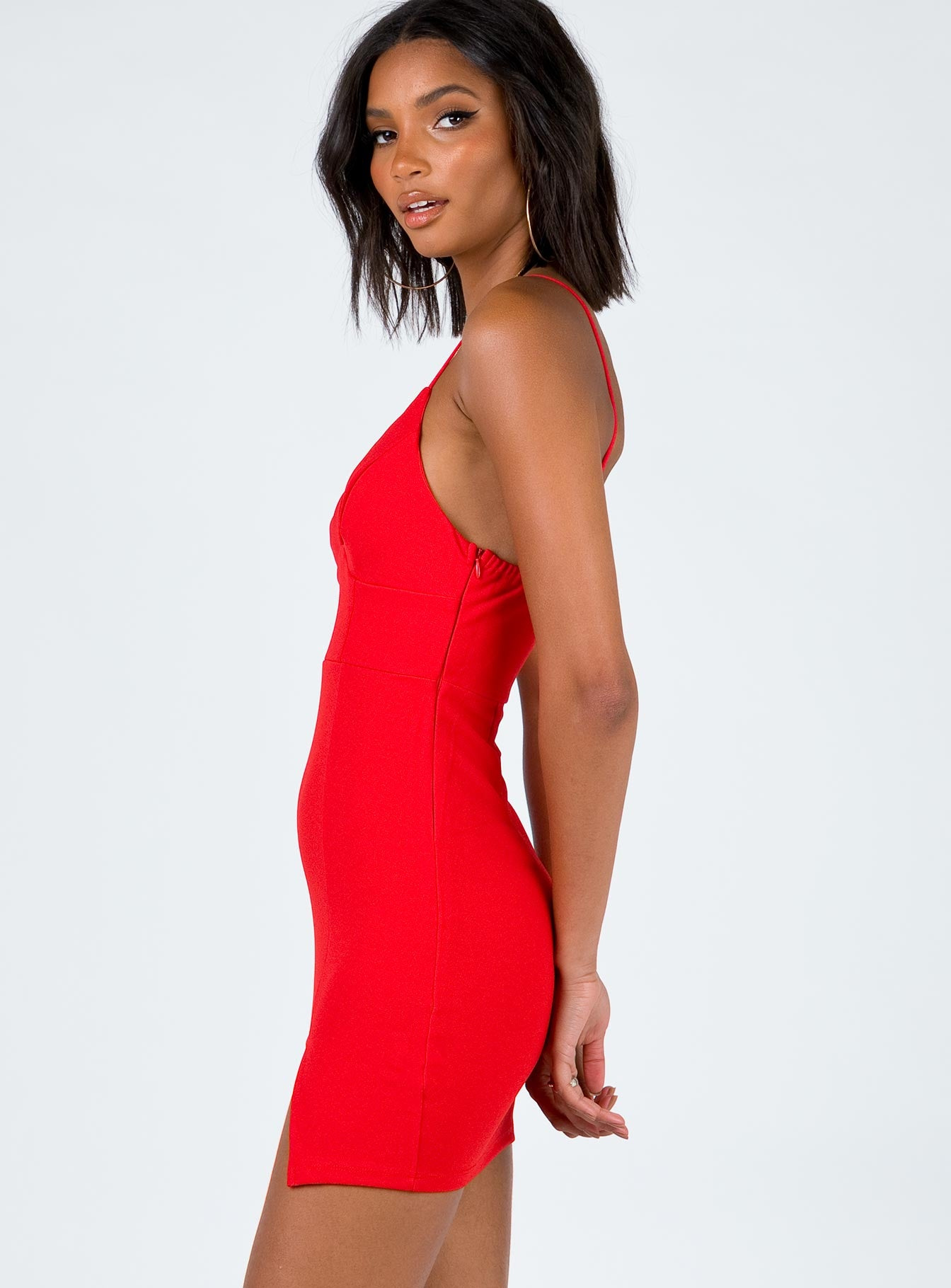 The Evey Dress Red