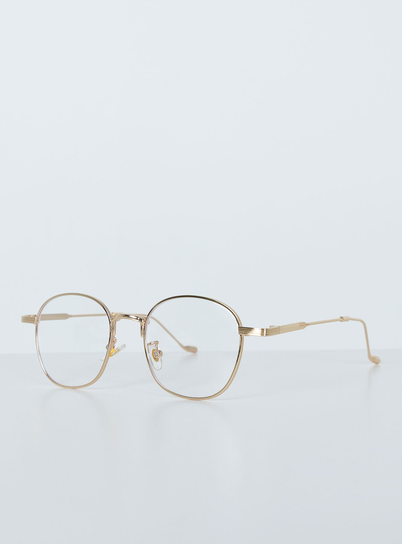 Lorrie Blue Light Glasses Gold