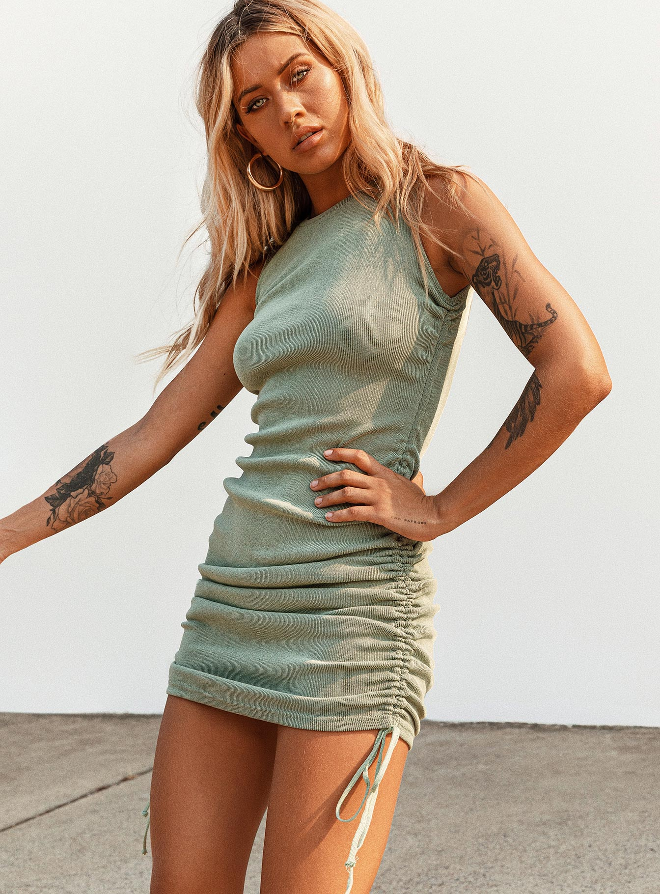 Military Minds Mini Dress