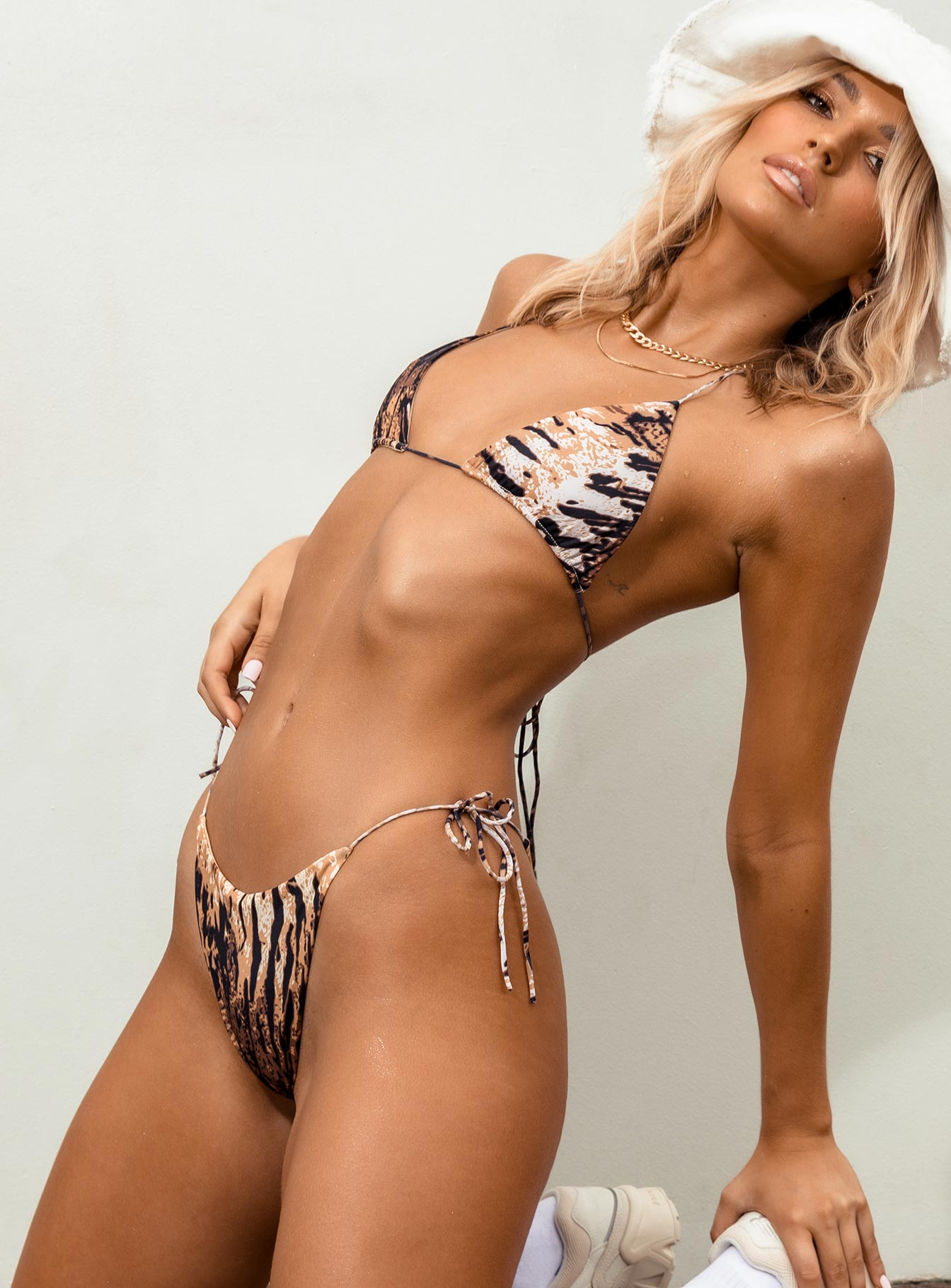 The Eden Swim Set Tiger