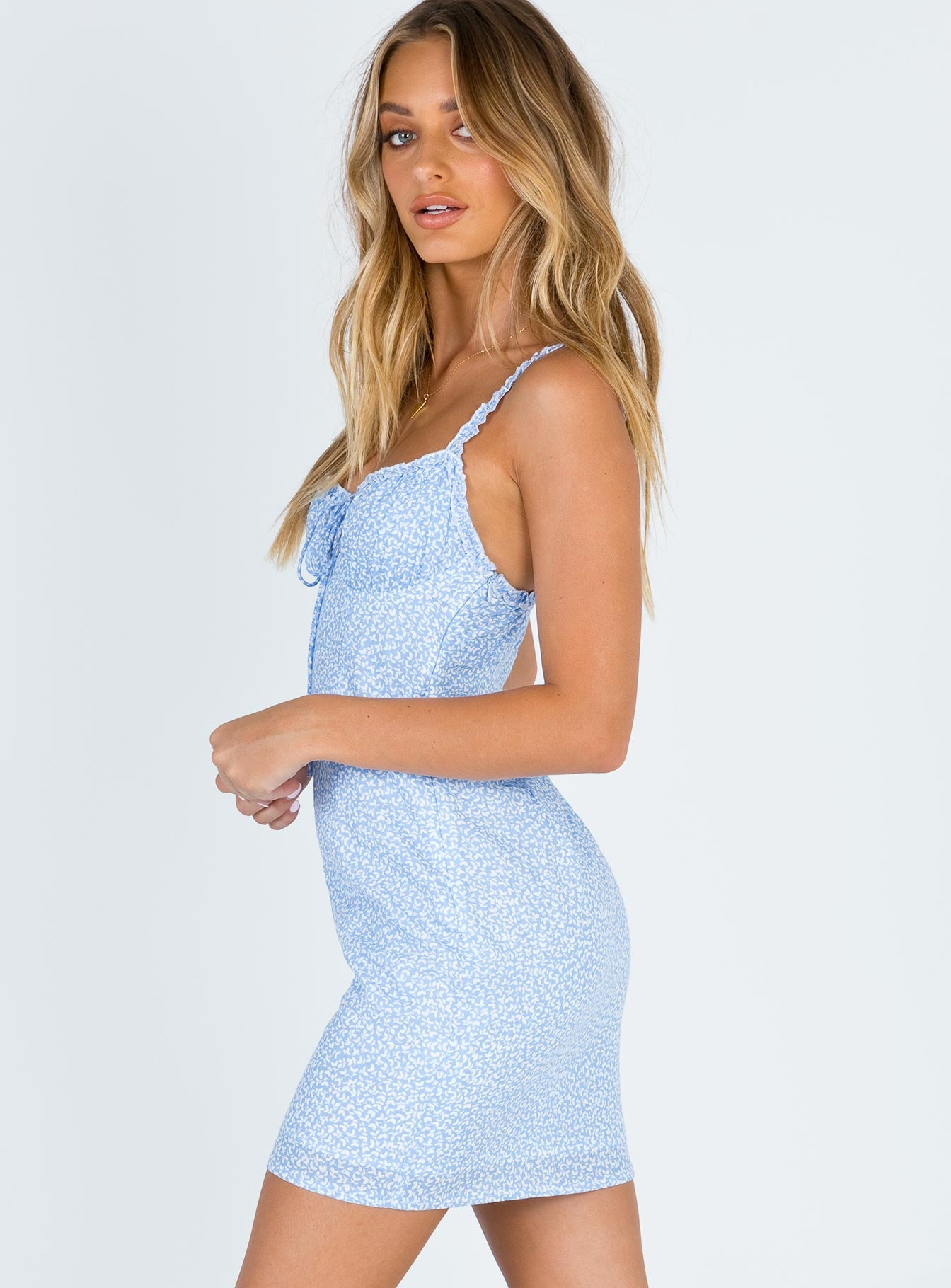 Blue Skies Mini Dress