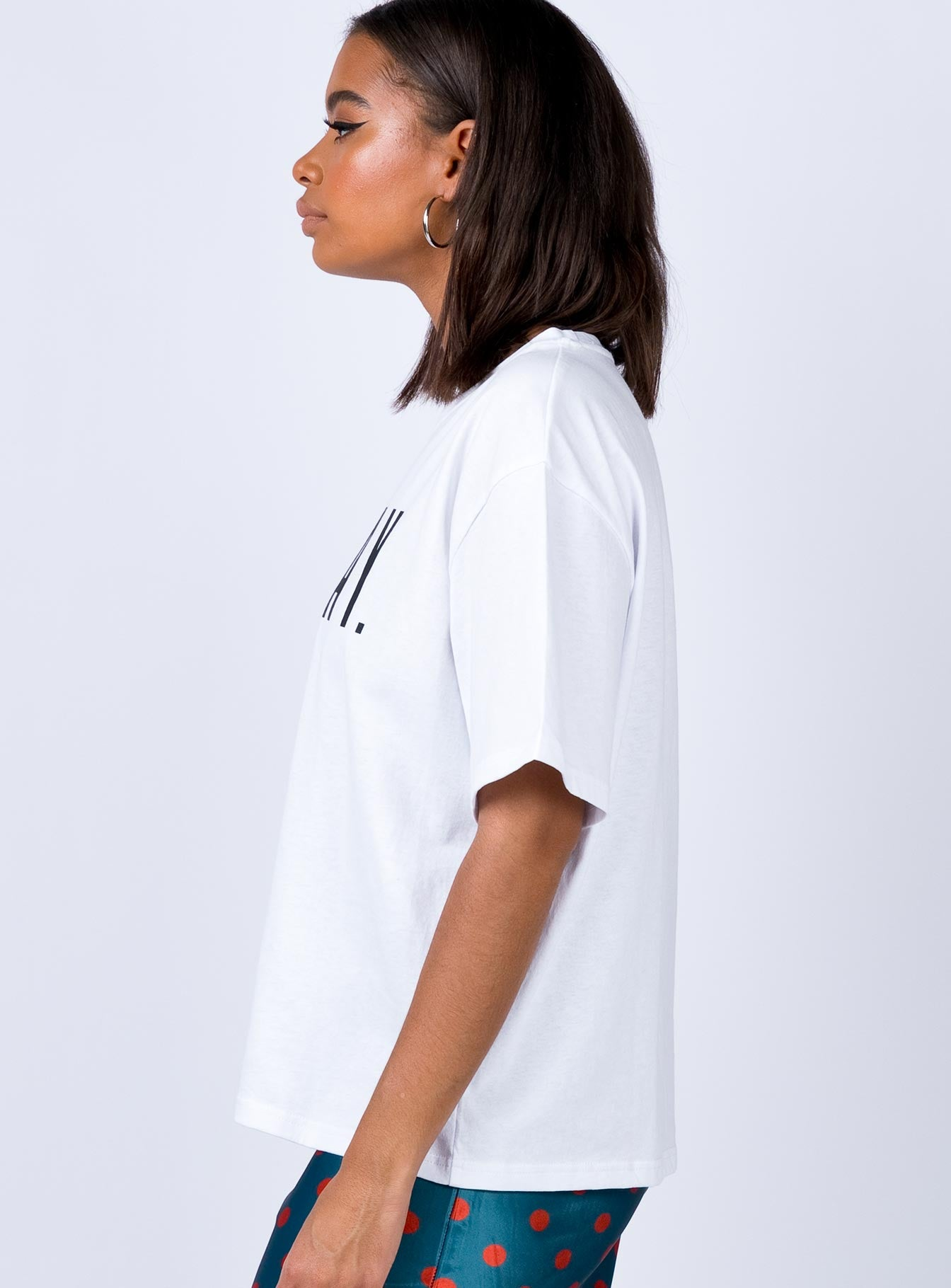 Sunday Snooze Tee White