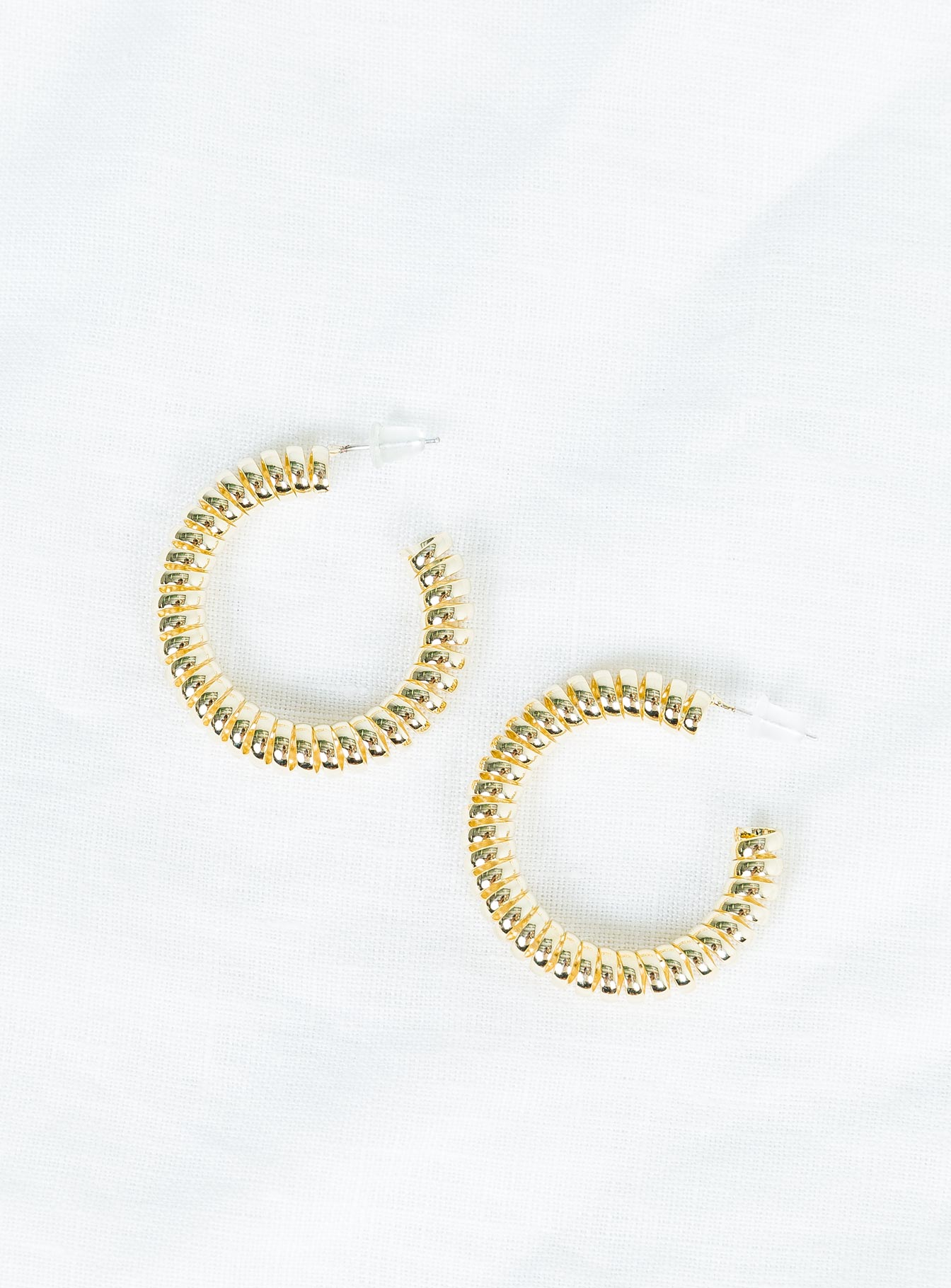 The Vortex Hoop Earrings