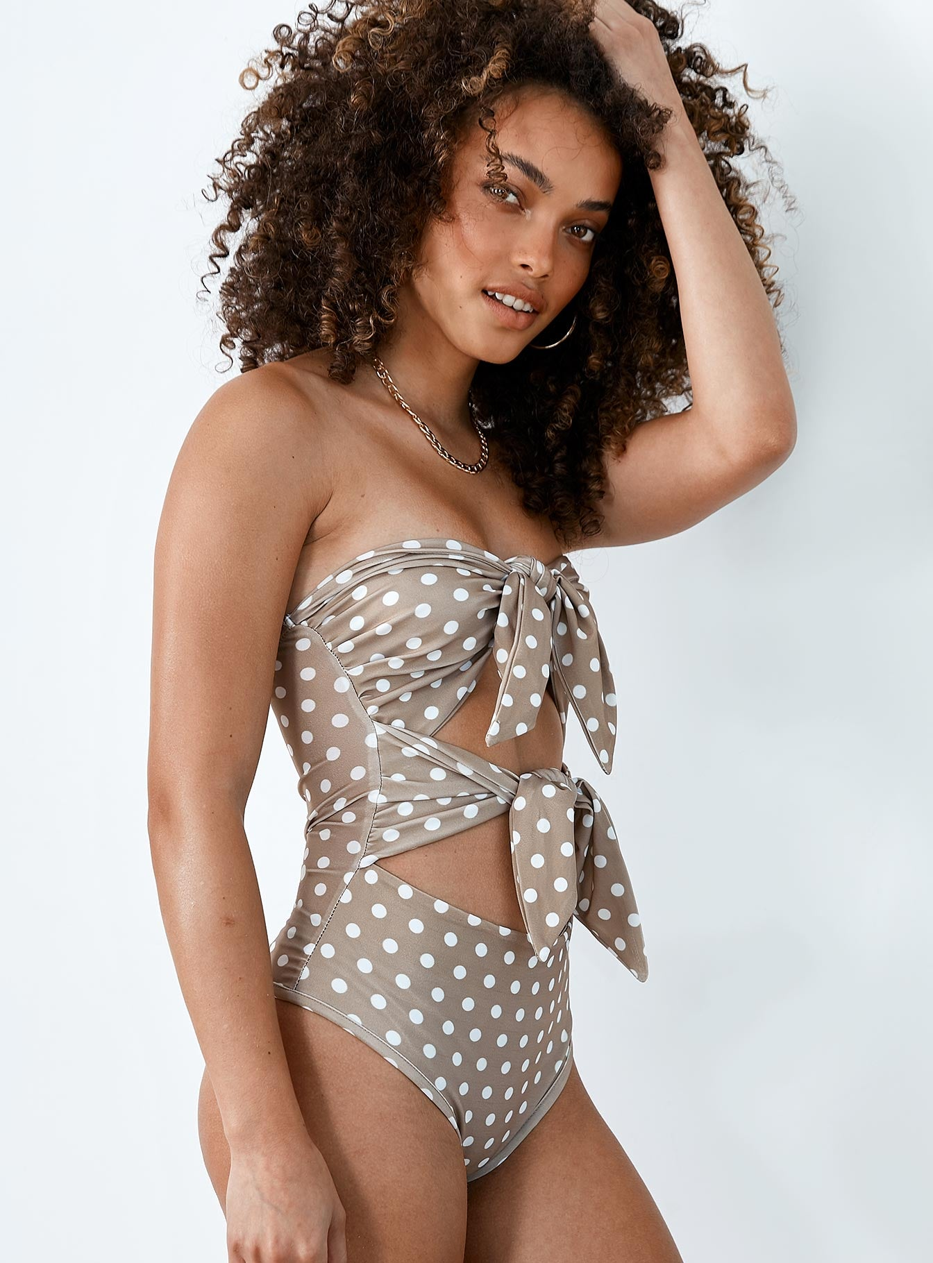 Eveline One Piece Beige