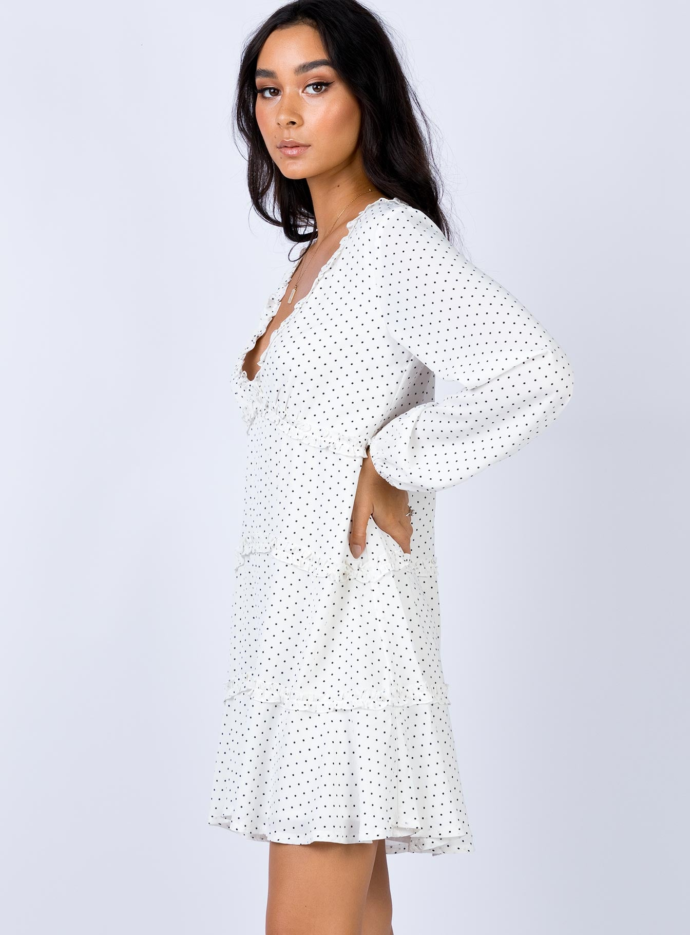 Truro Mini Dress White