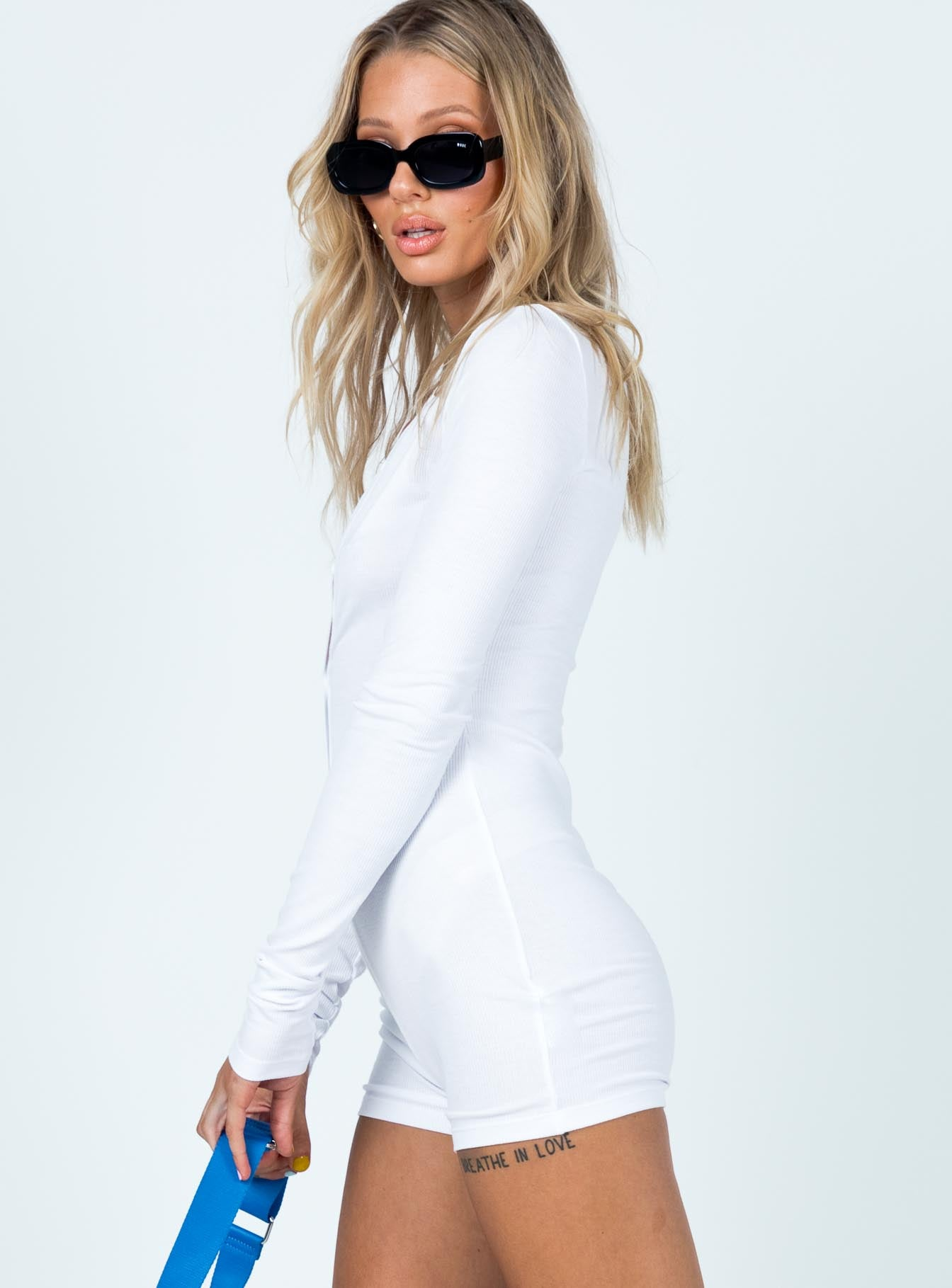 Angel Romper White