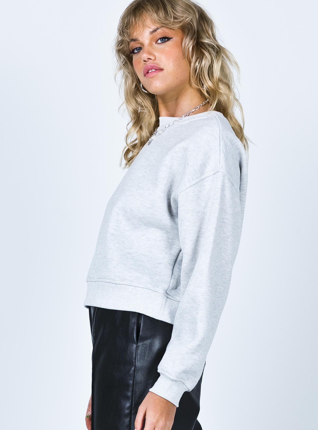 Monet Crewneck Sweatshirt Grey