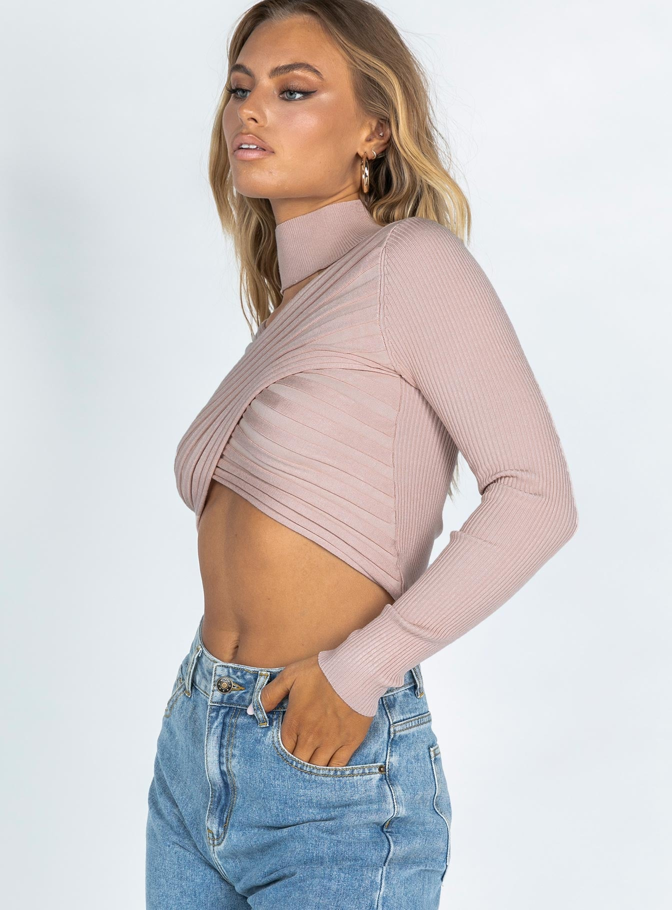 Trixie Long Sleeve Top Pink