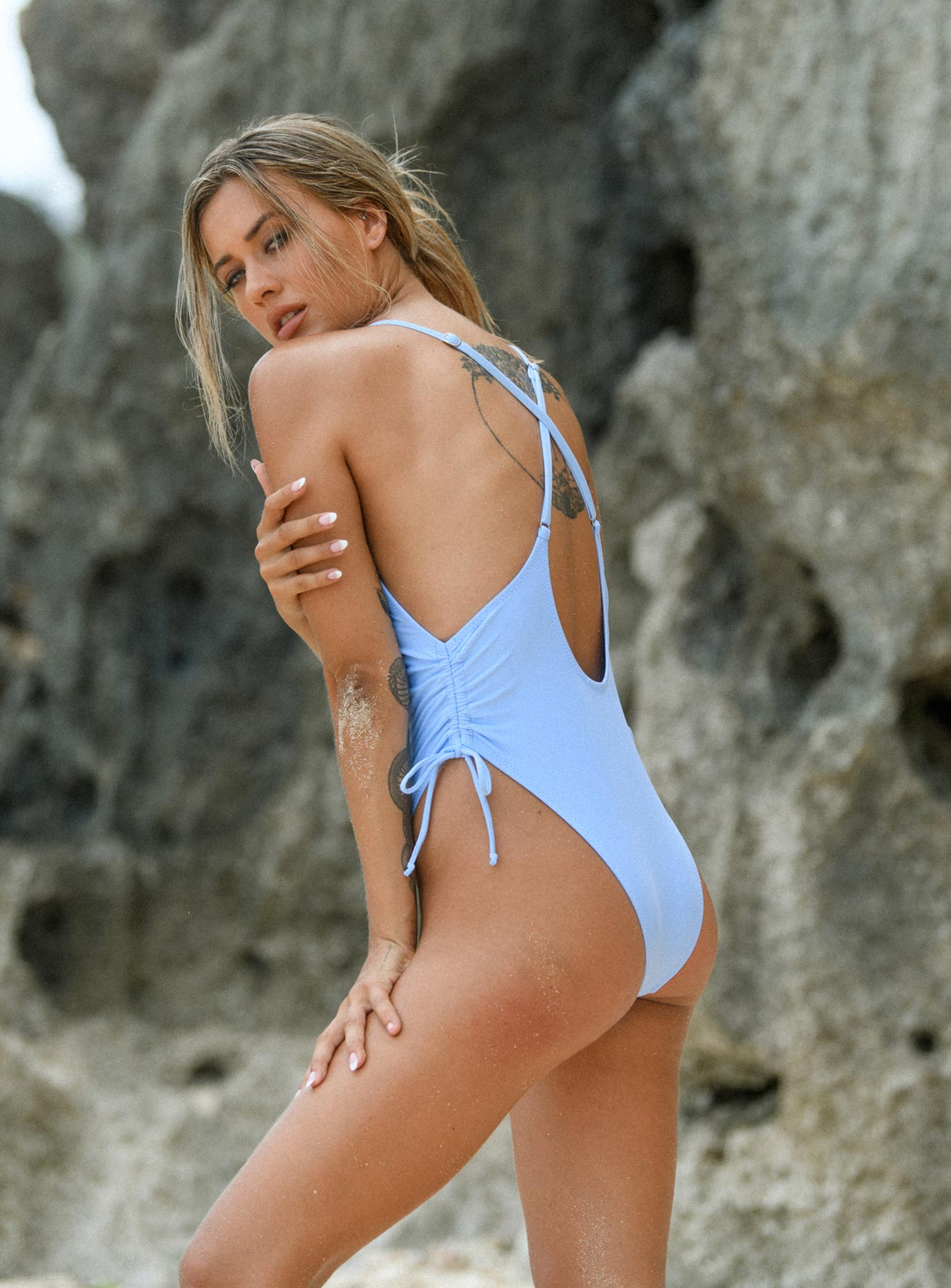 Moana One Piece Baby Blue