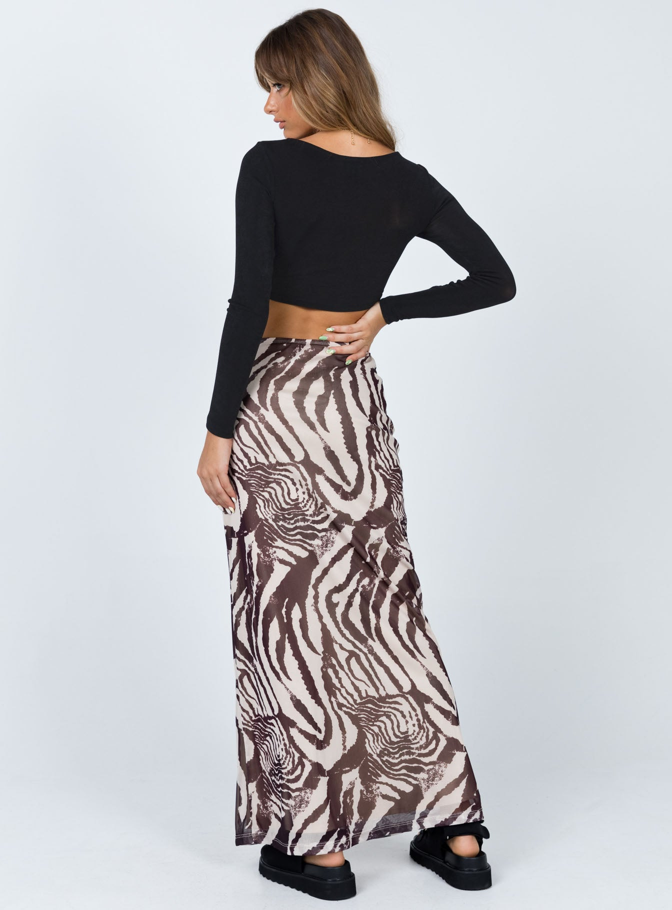Harry Maxi Skirt Beige