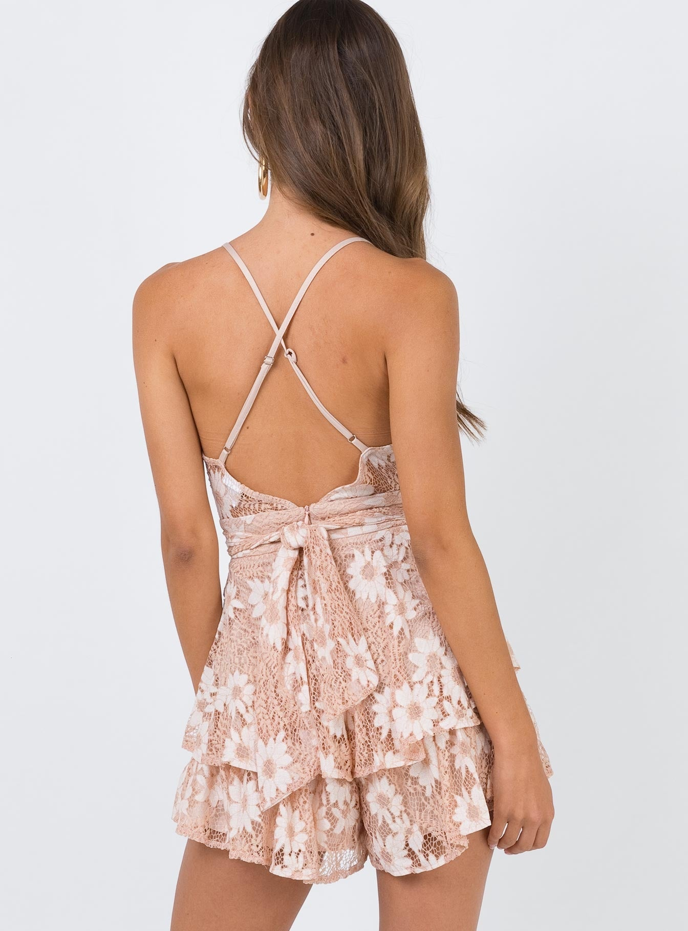 String Of Summer Playsuit Nude