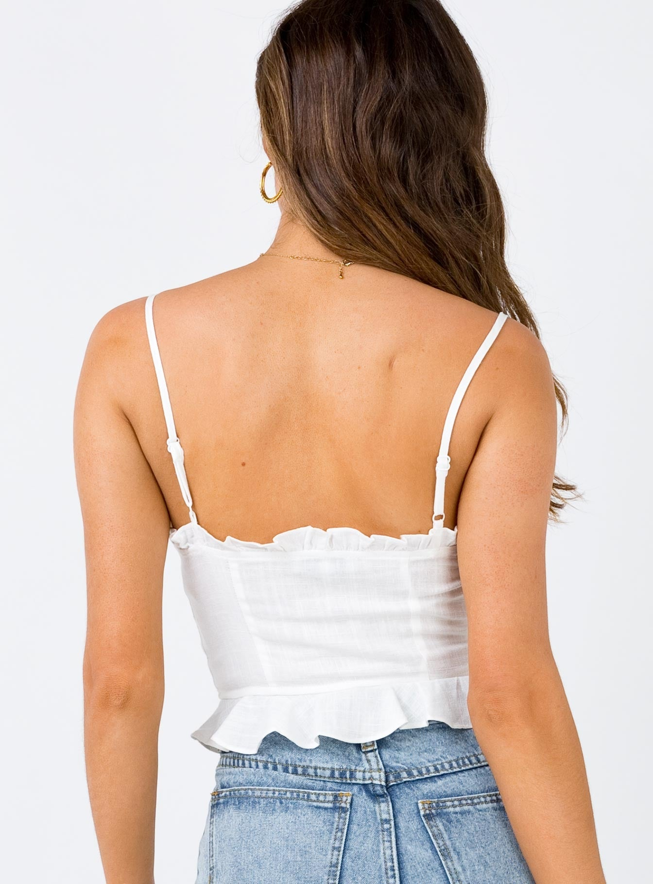 The Daphne Top White