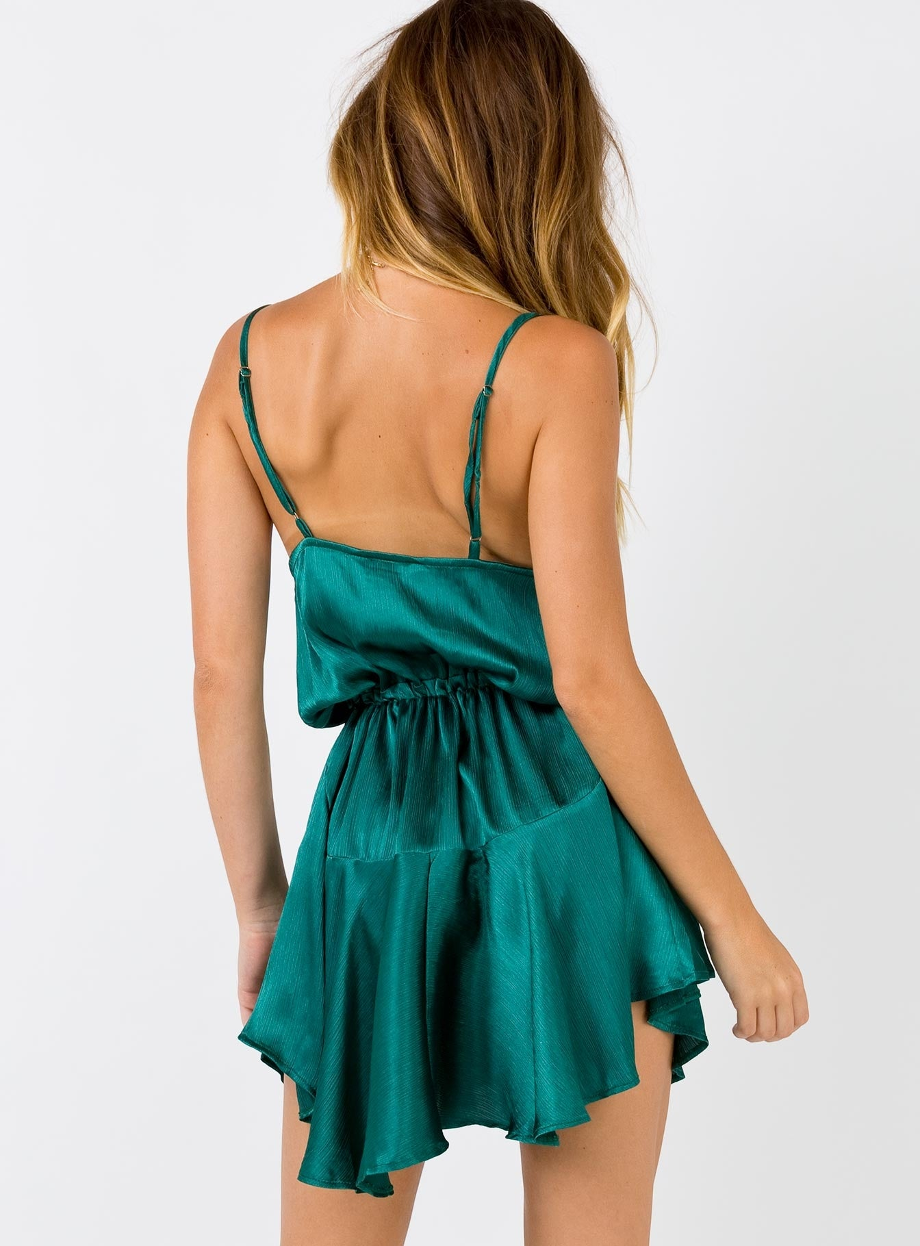 The Lia Mini Dress Jade