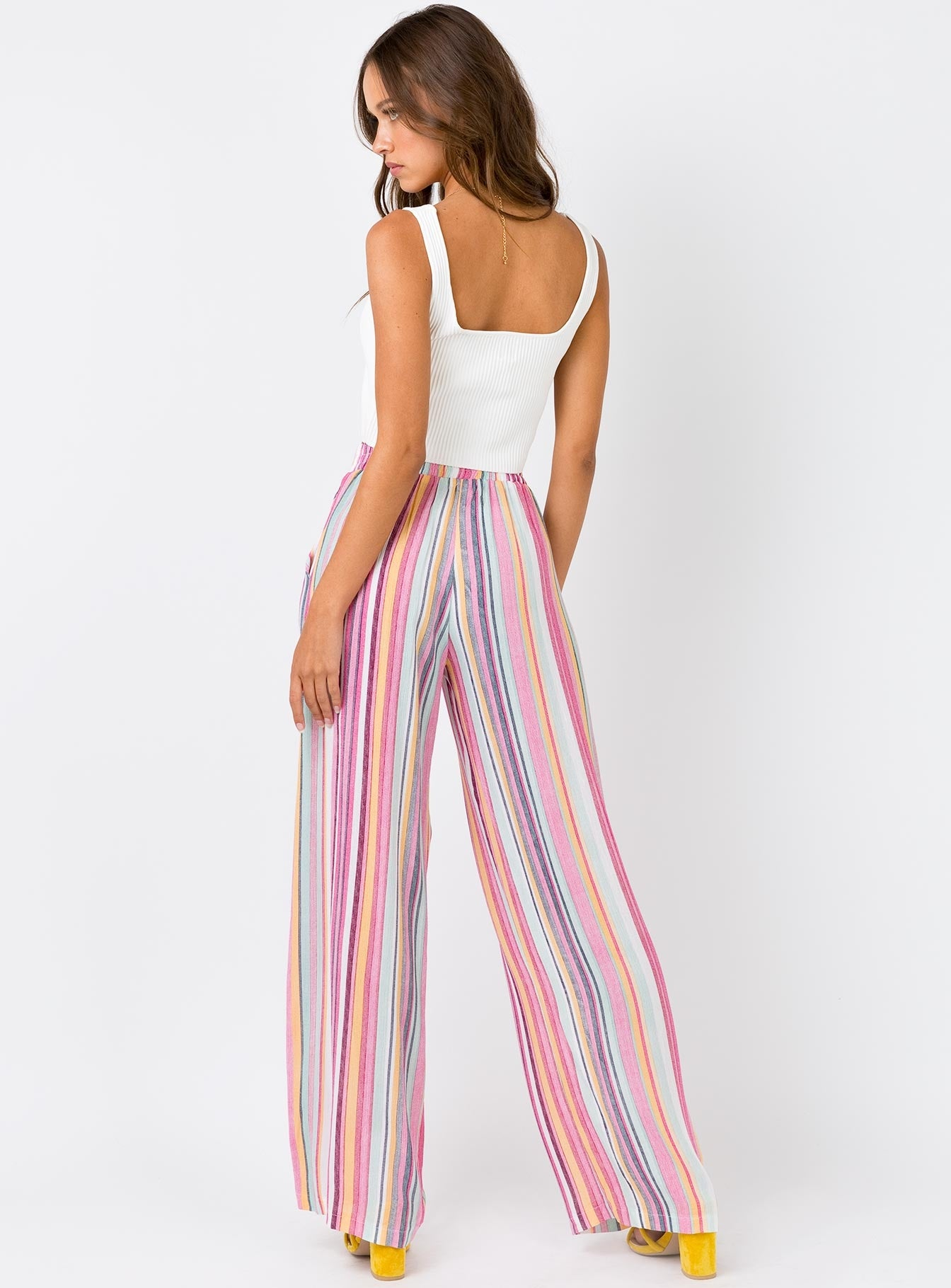 The Archie Pants Pink Multi