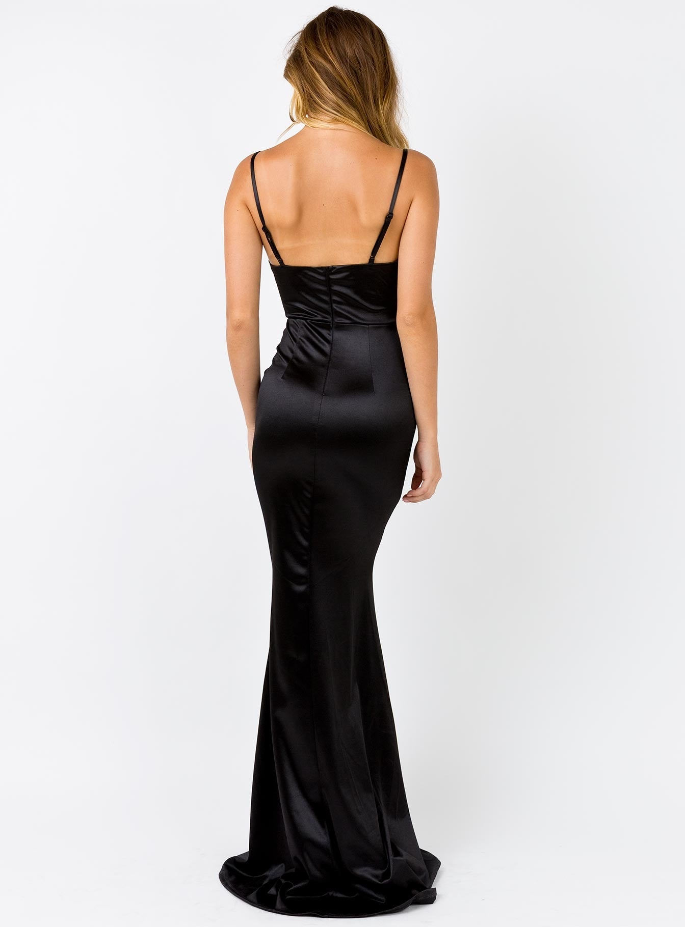 Anya Maxi Dress Black