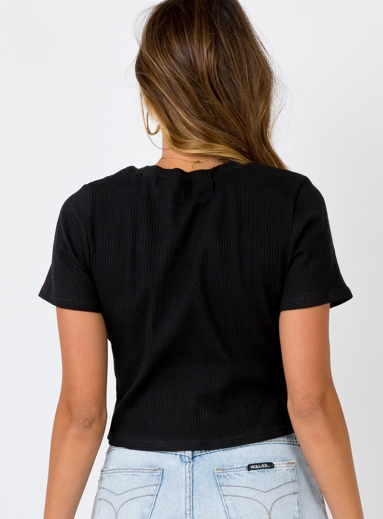 The Baby Girl Tee Black