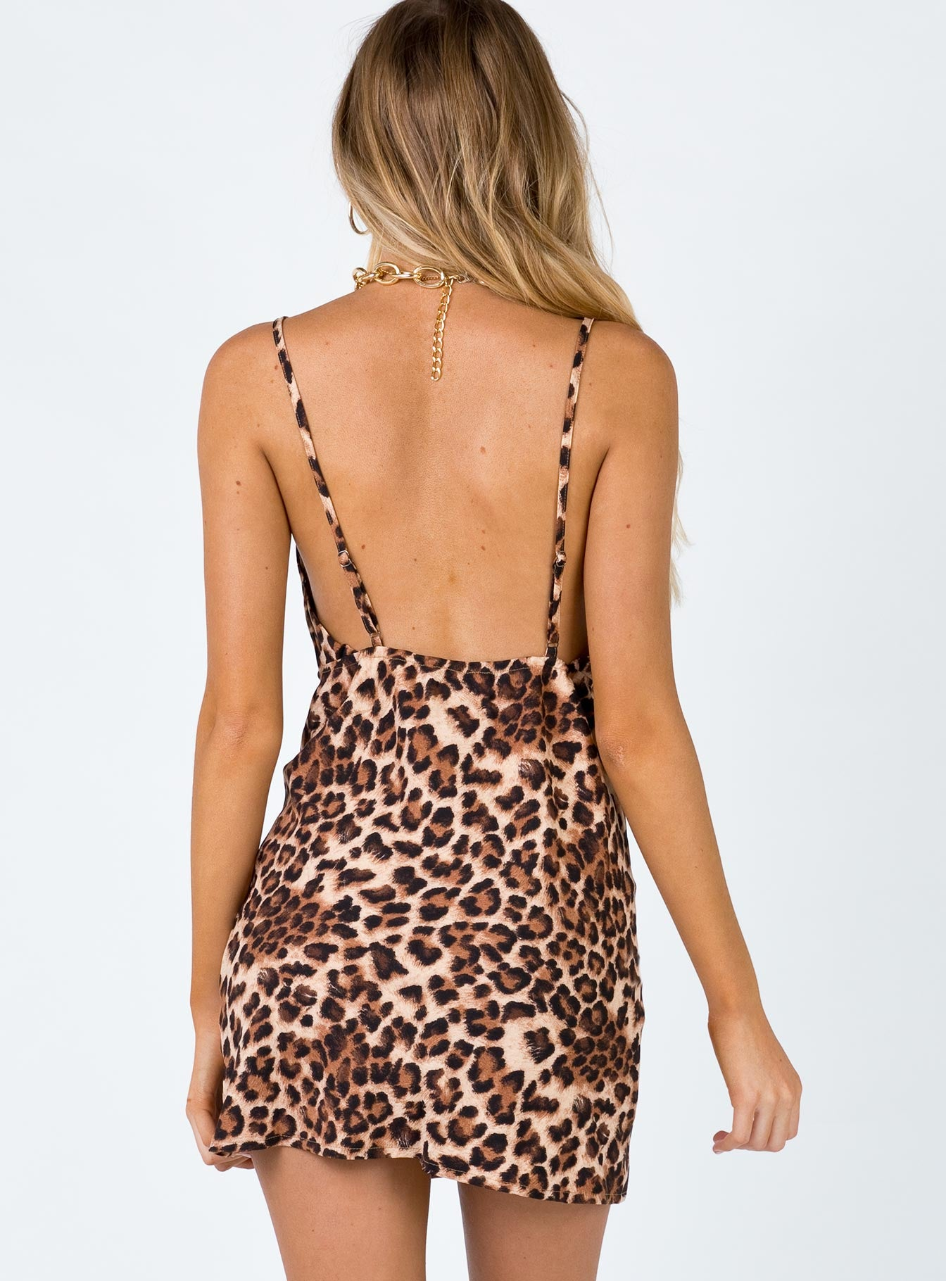 Diaz Mini Dress Leopard