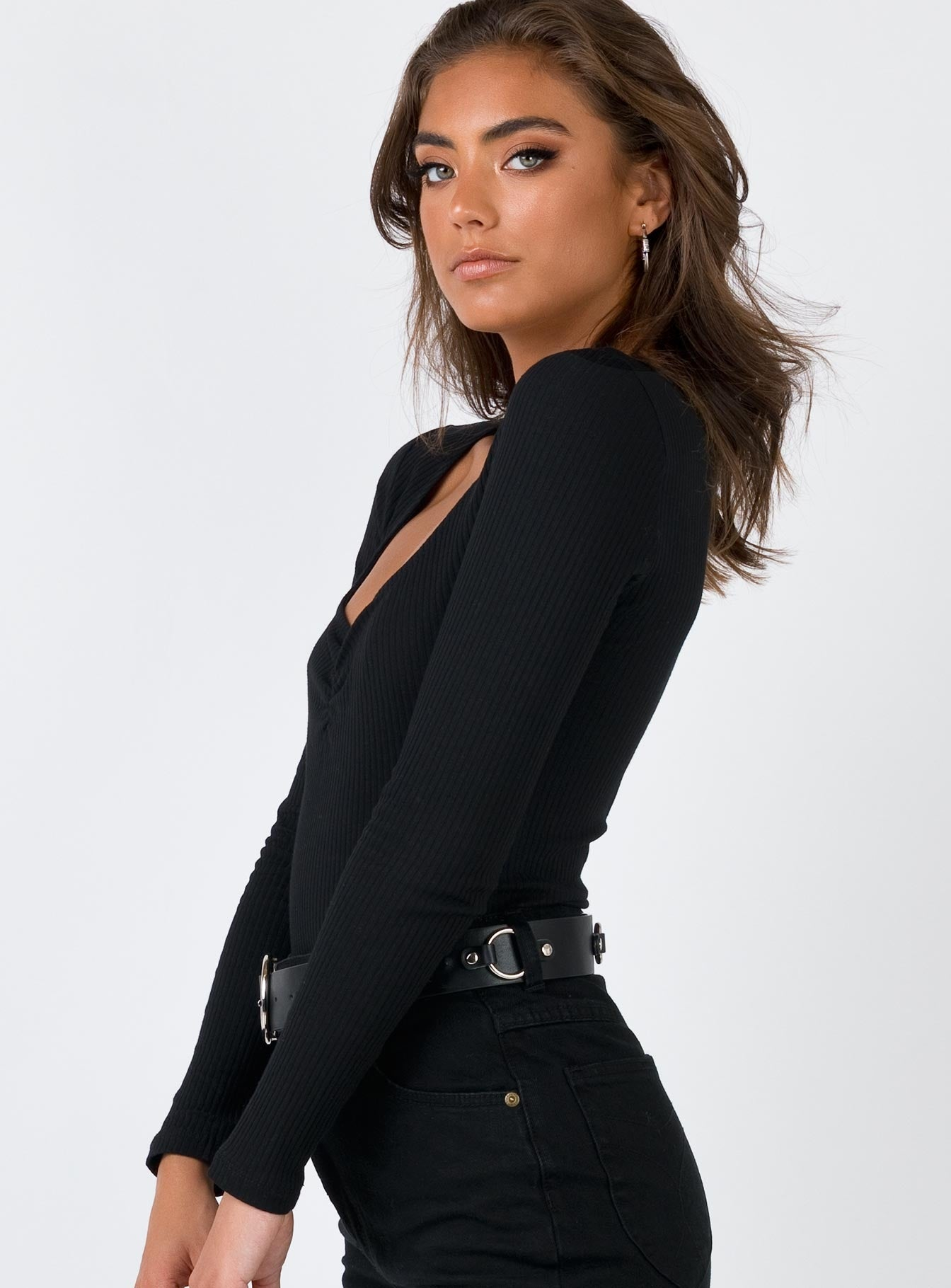 The Nica Bodysuit Black