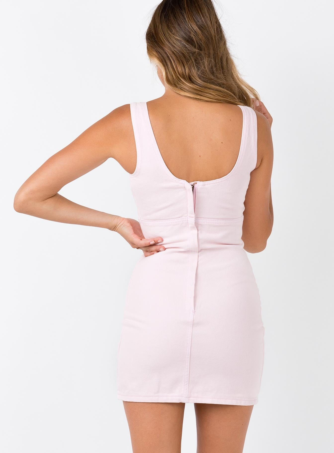 Colesseo Mini Dress Baby Pink