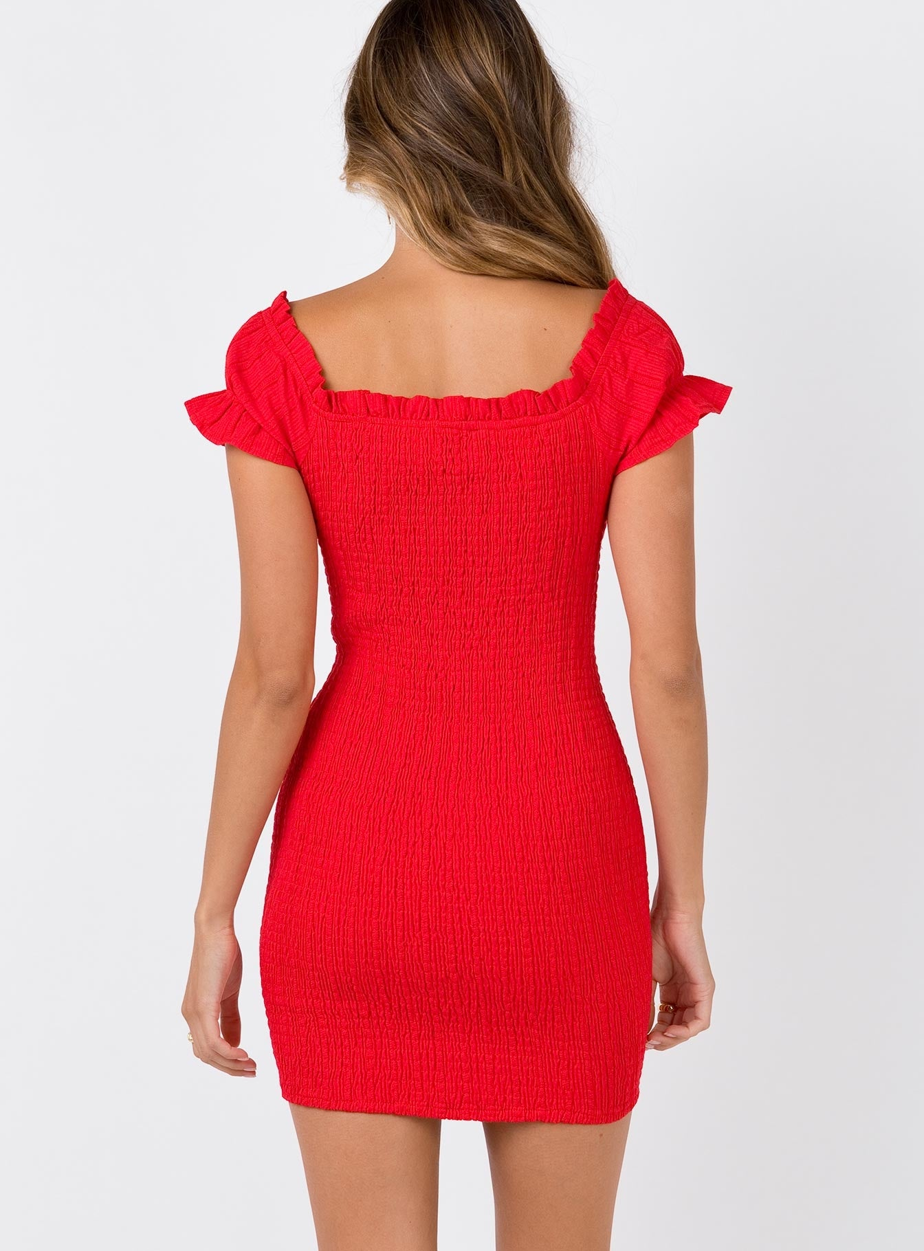 The Kipp Mini Dress Red