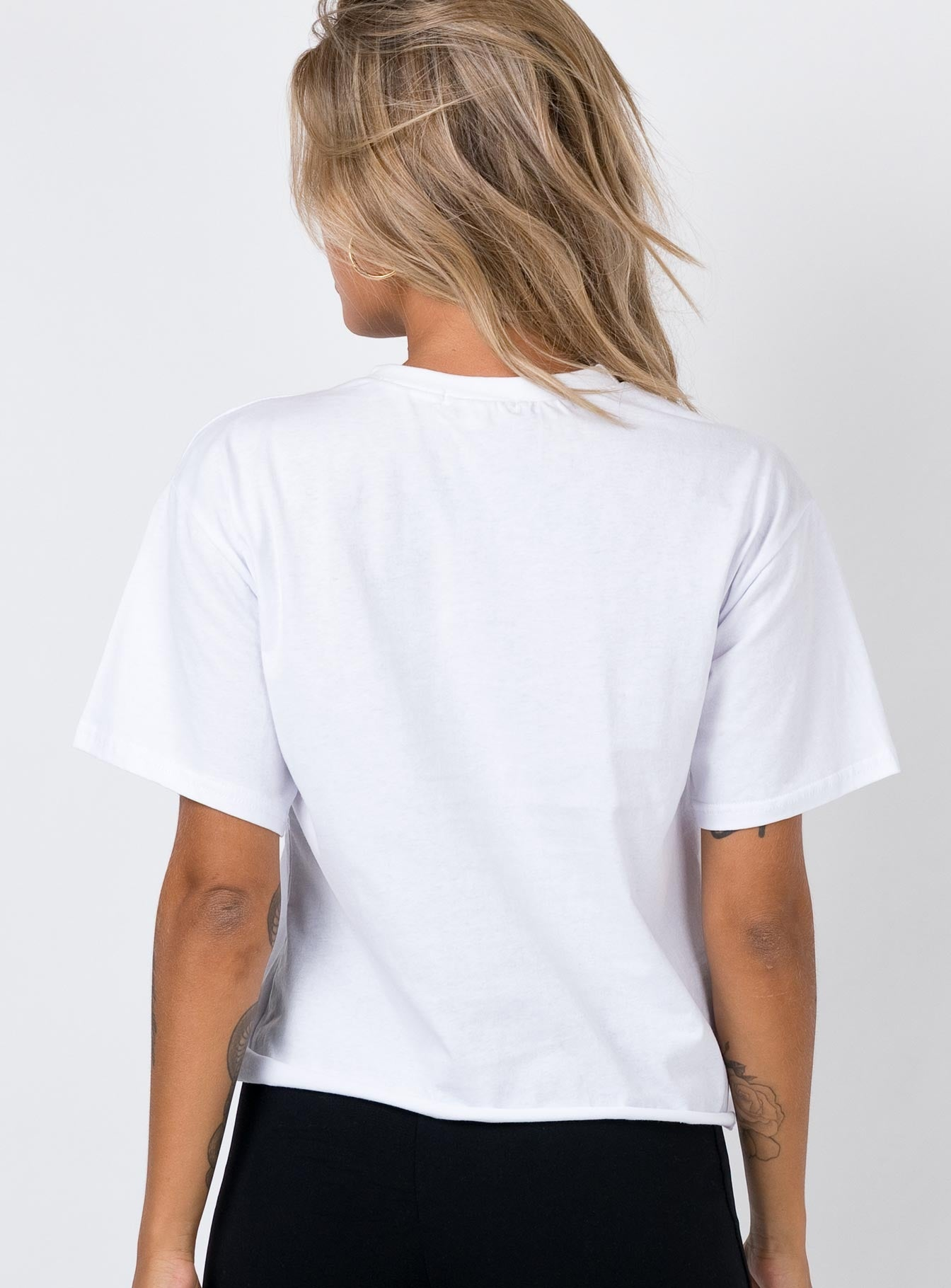 Born In The USA Tee White