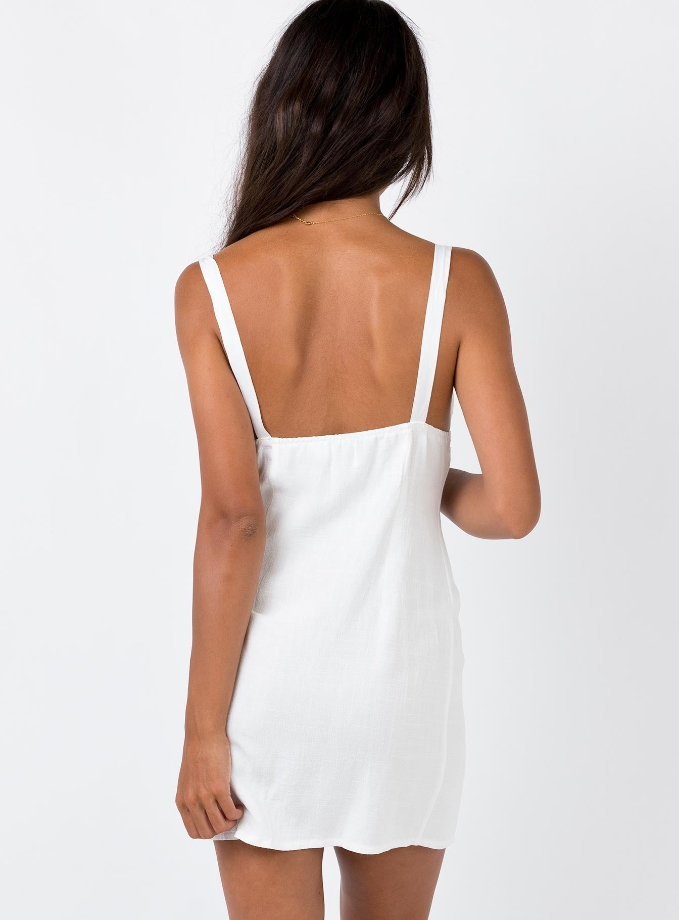 Rowe Mini Dress White