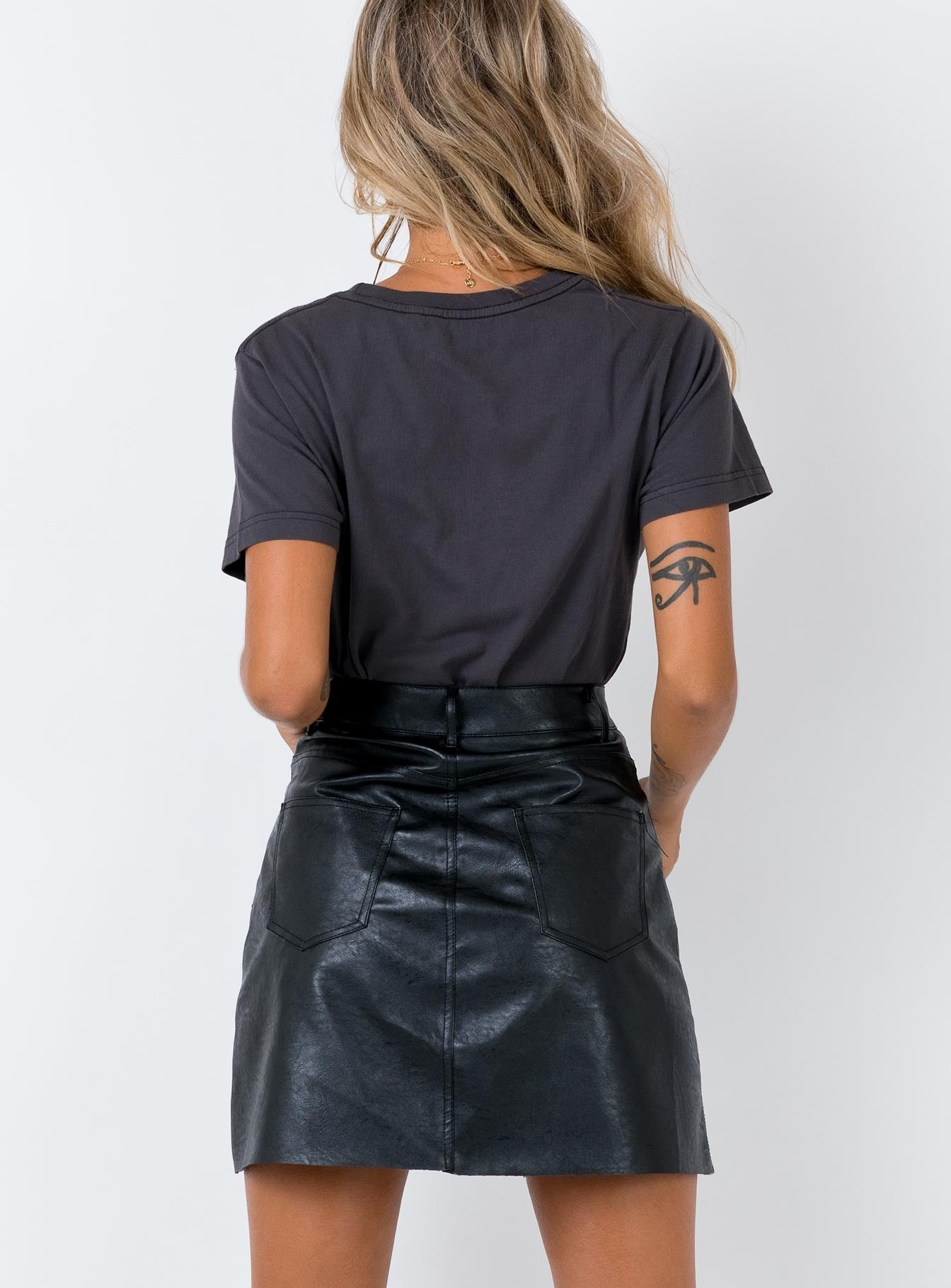 The Holiday Skirt Black