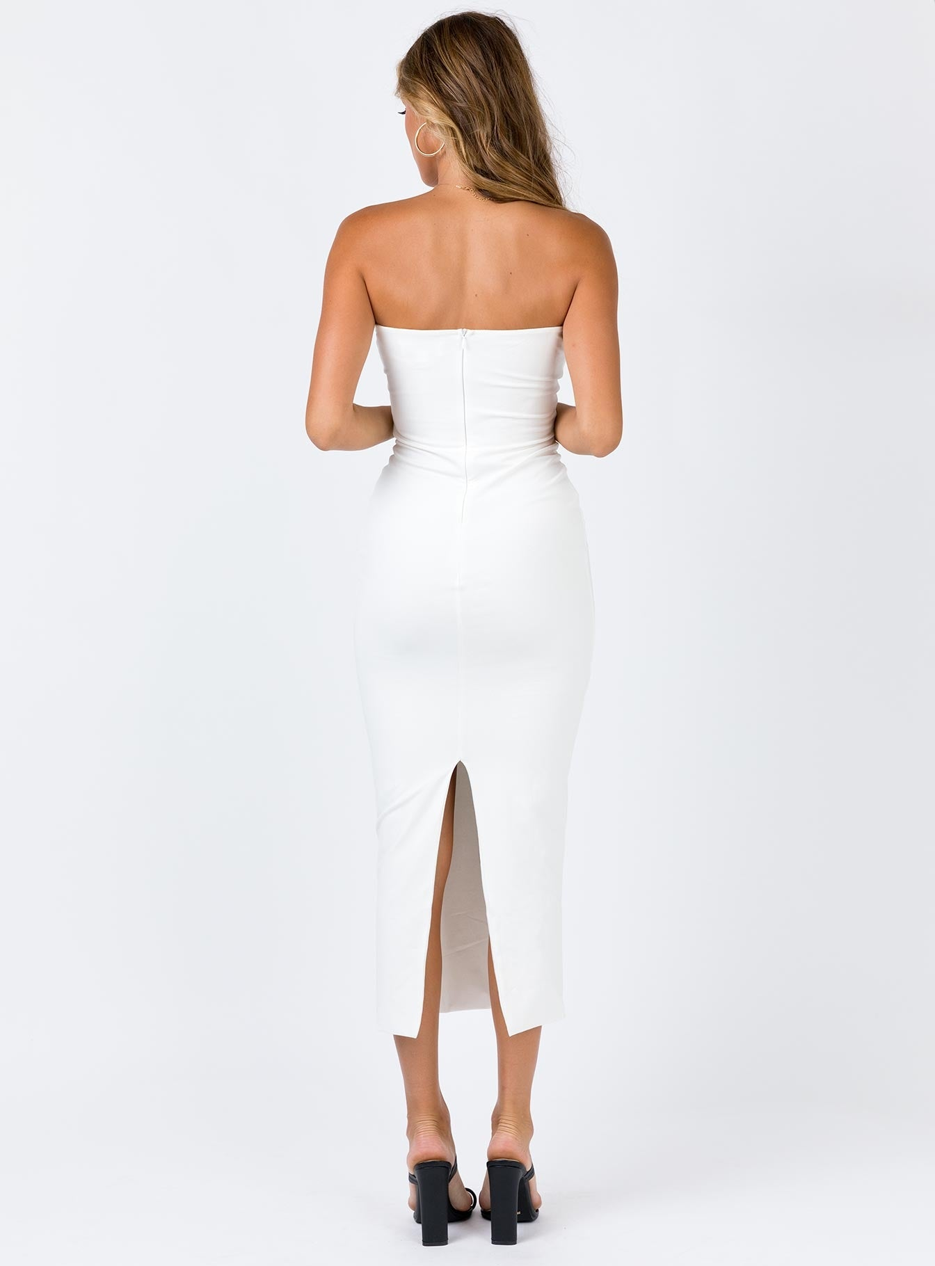 Jenkins Midi Dress White