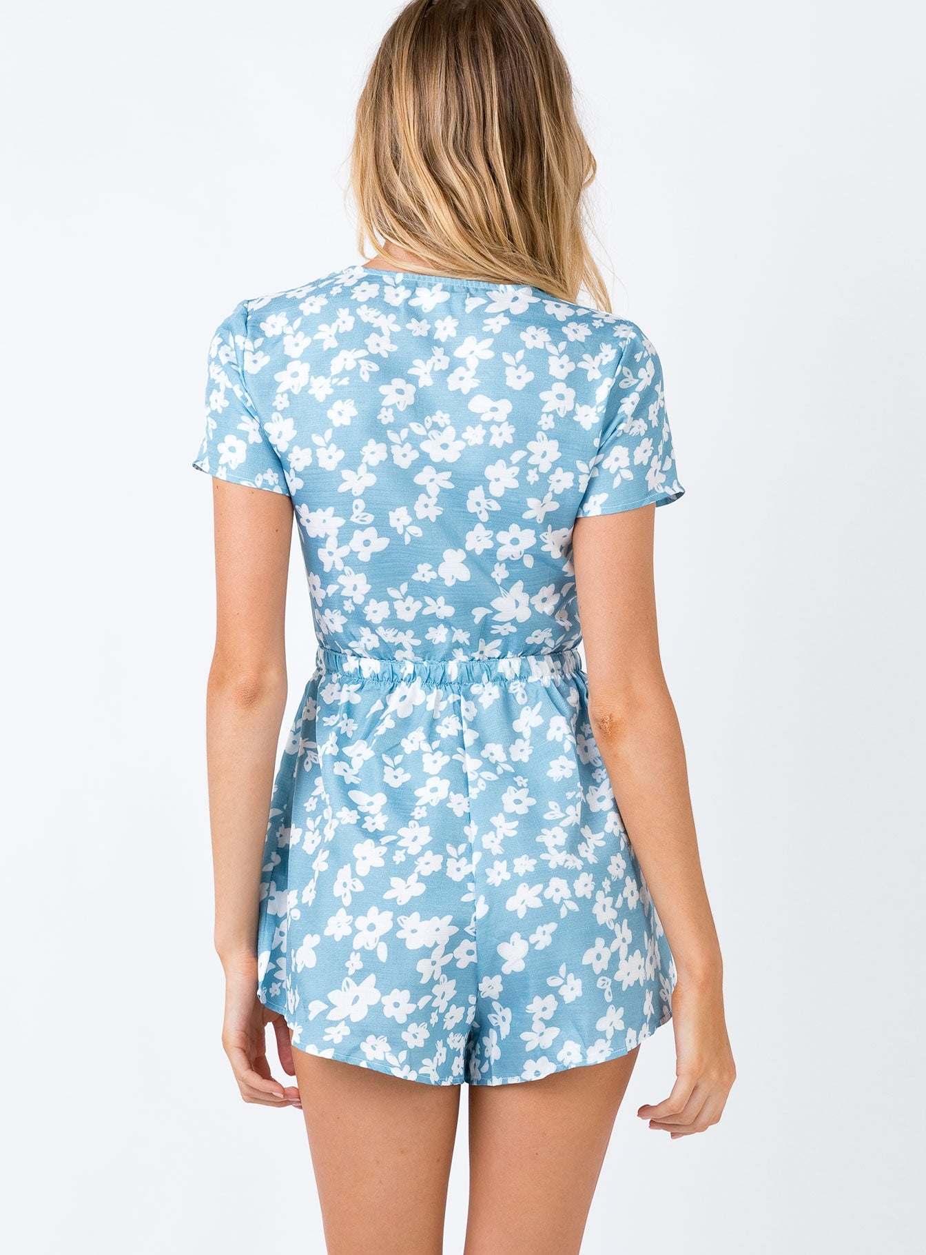 The Blue Flower Playsuit