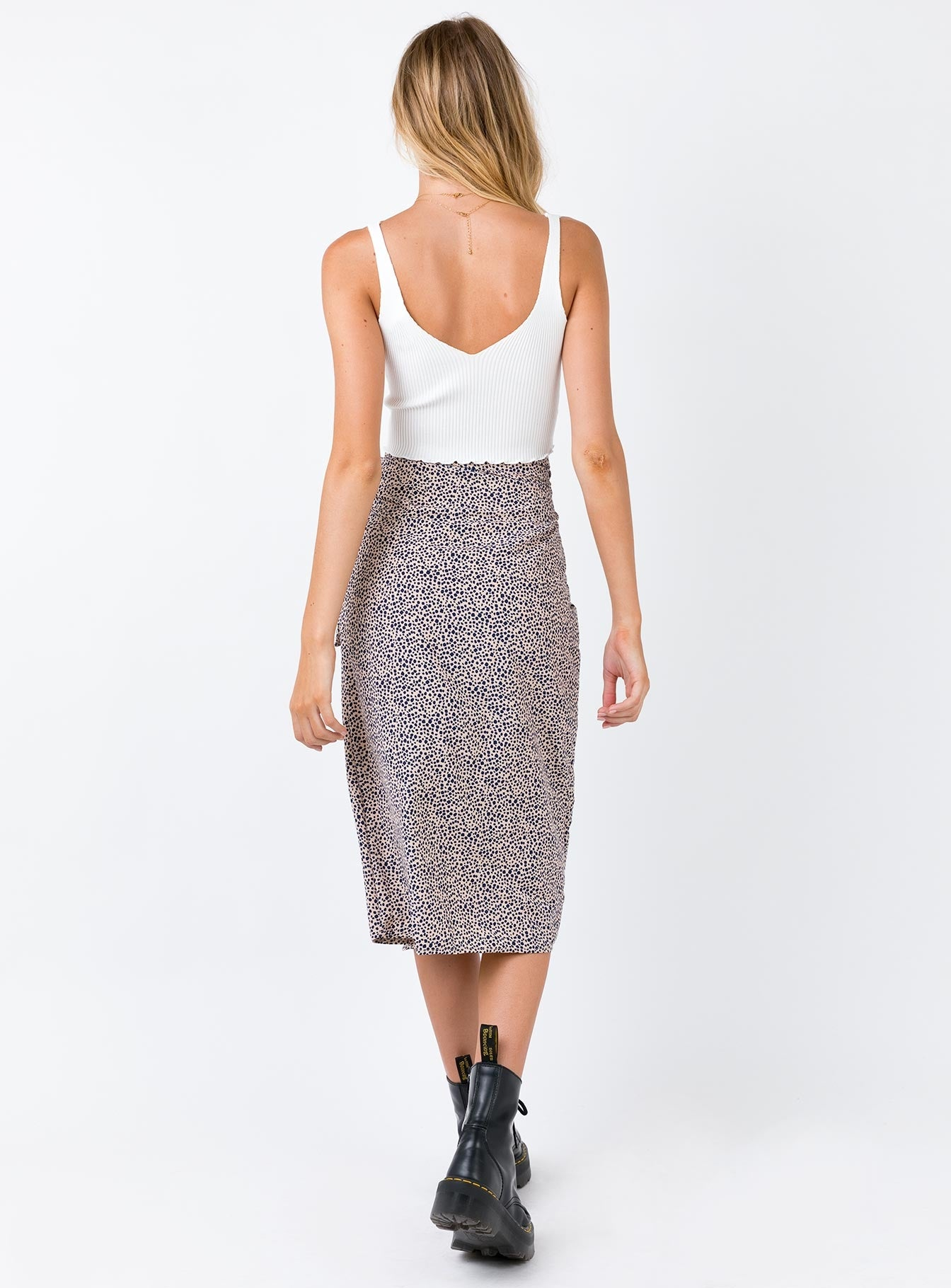 Romeo Midi Skirt Tan