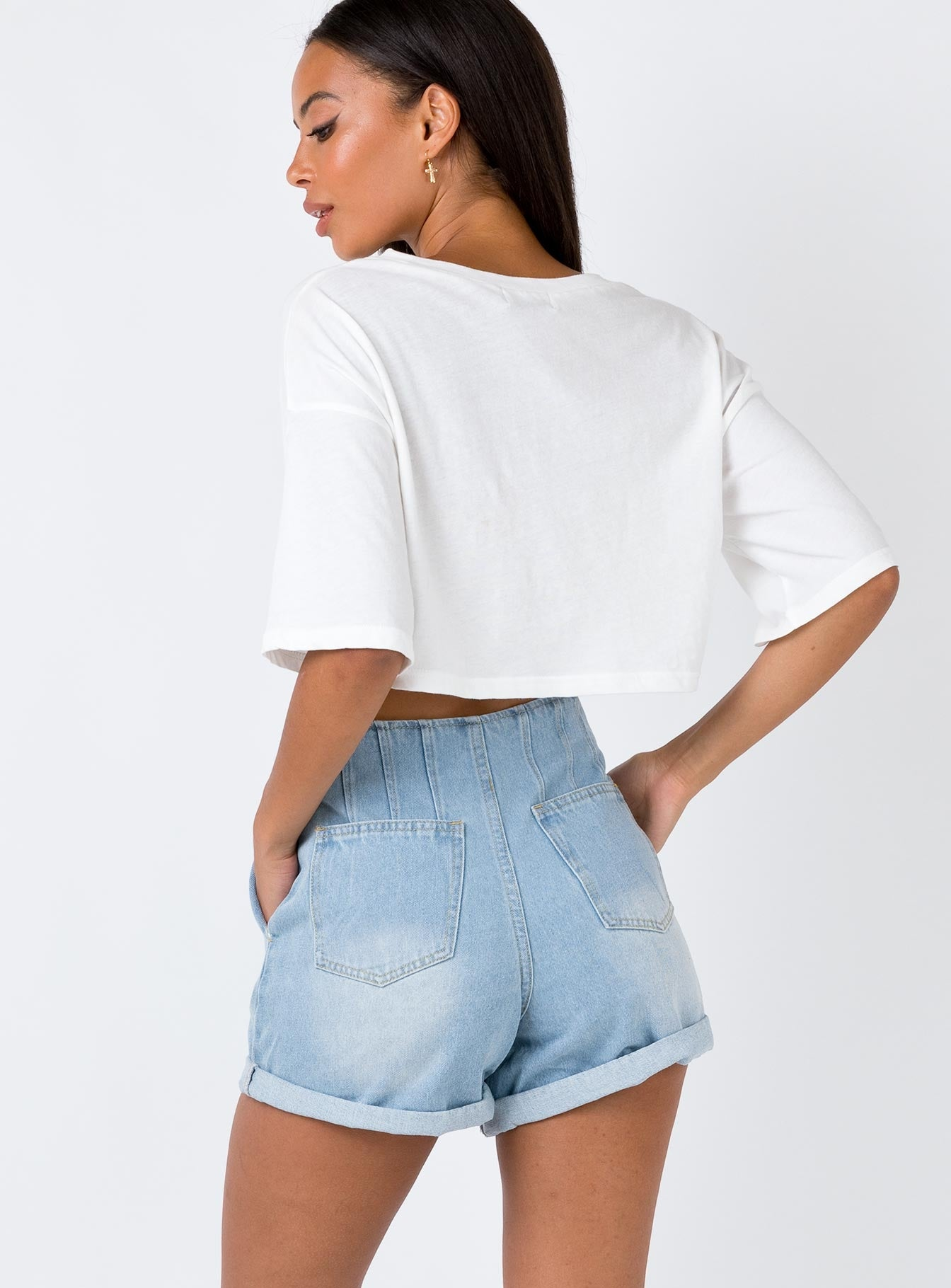 The Cradle Shorts Denim