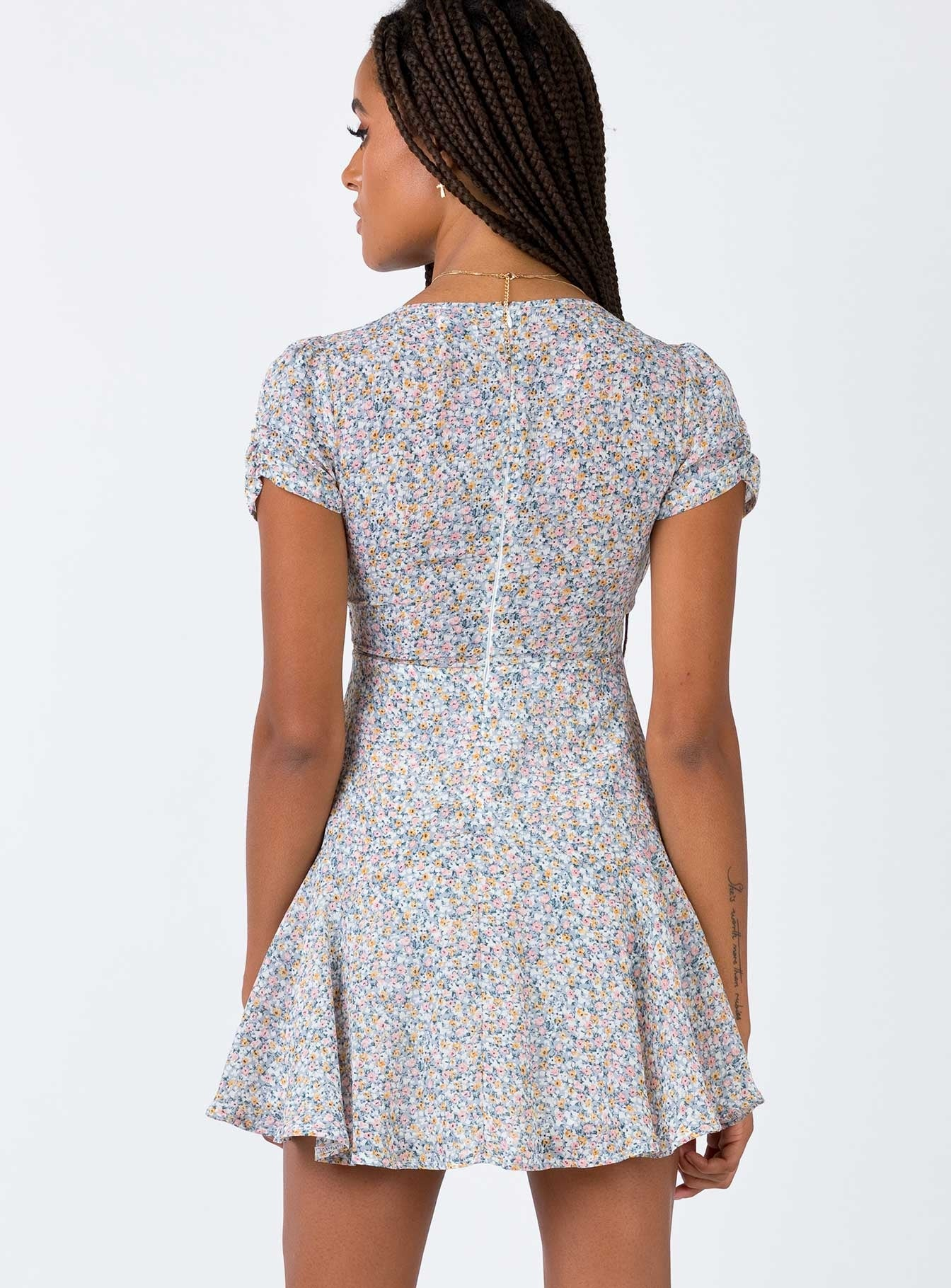Cisco Mini Dress Blue Multi