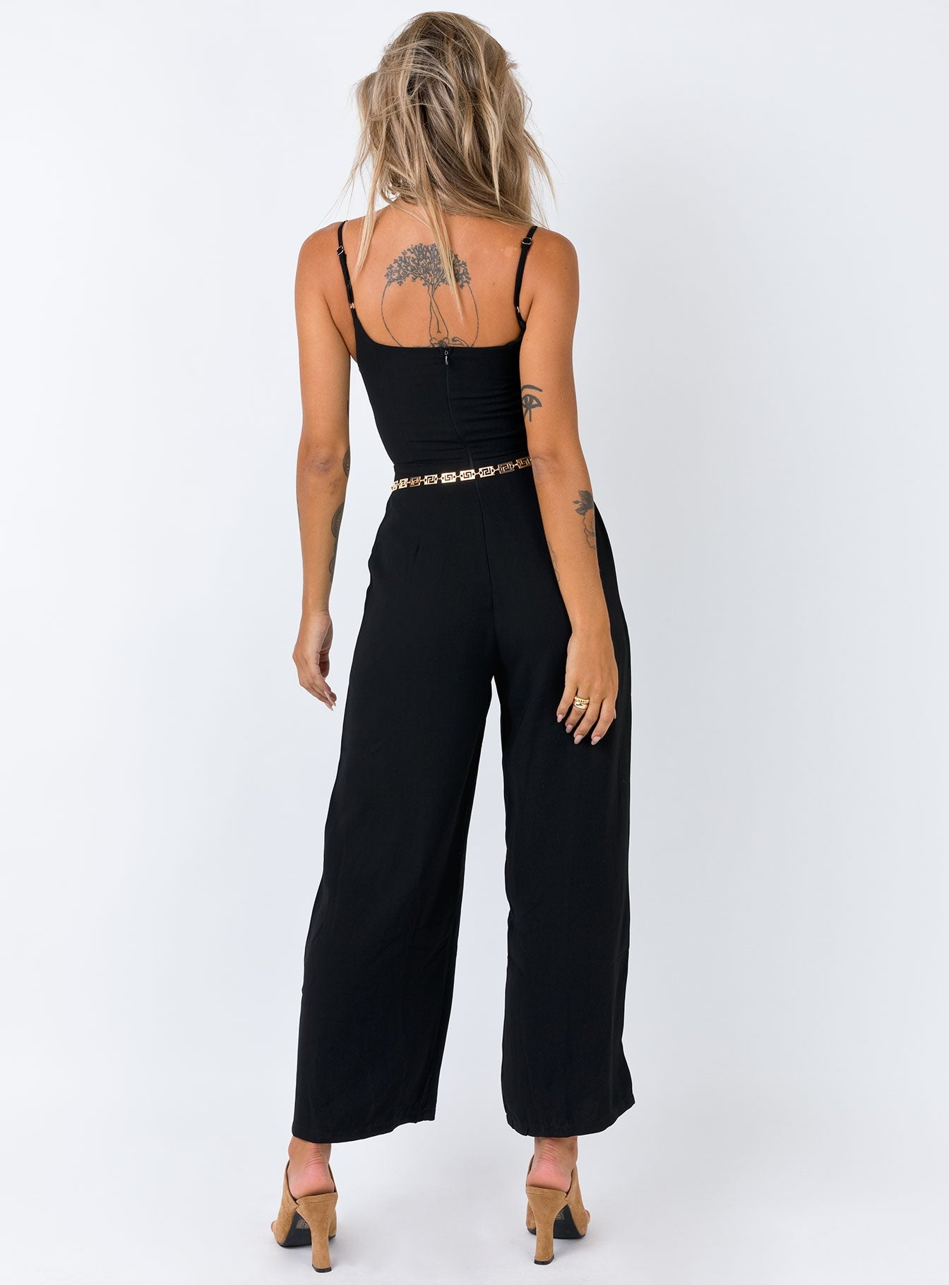 Makan Jumpsuit Black