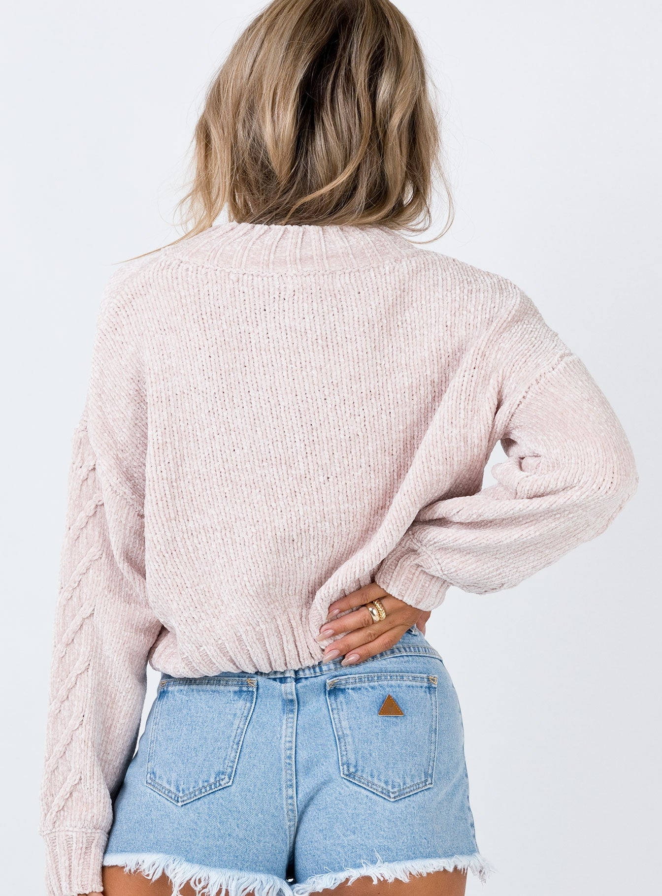 Rainy Nights Sweater Nude