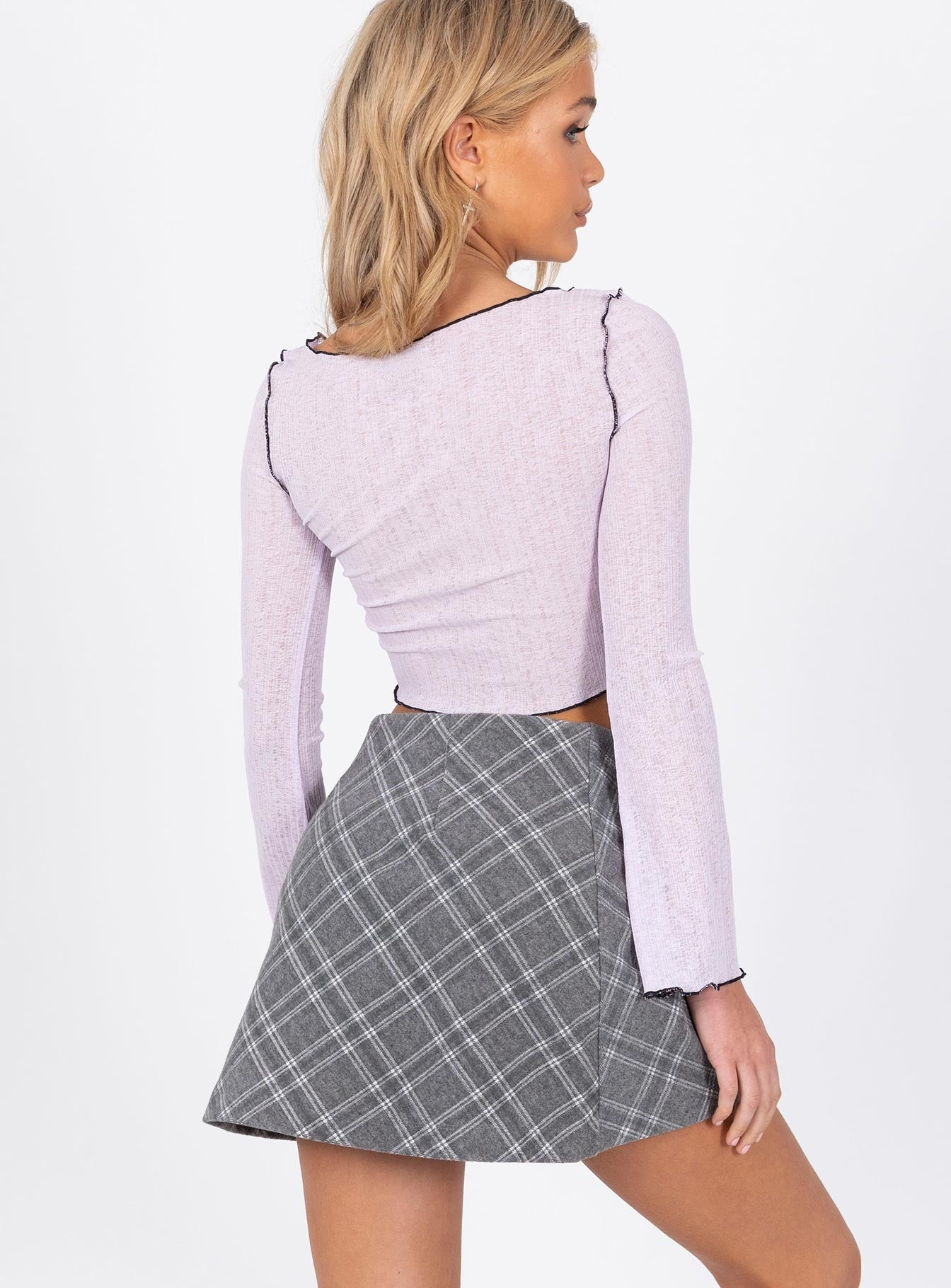 Fike Mini Skirt Grey