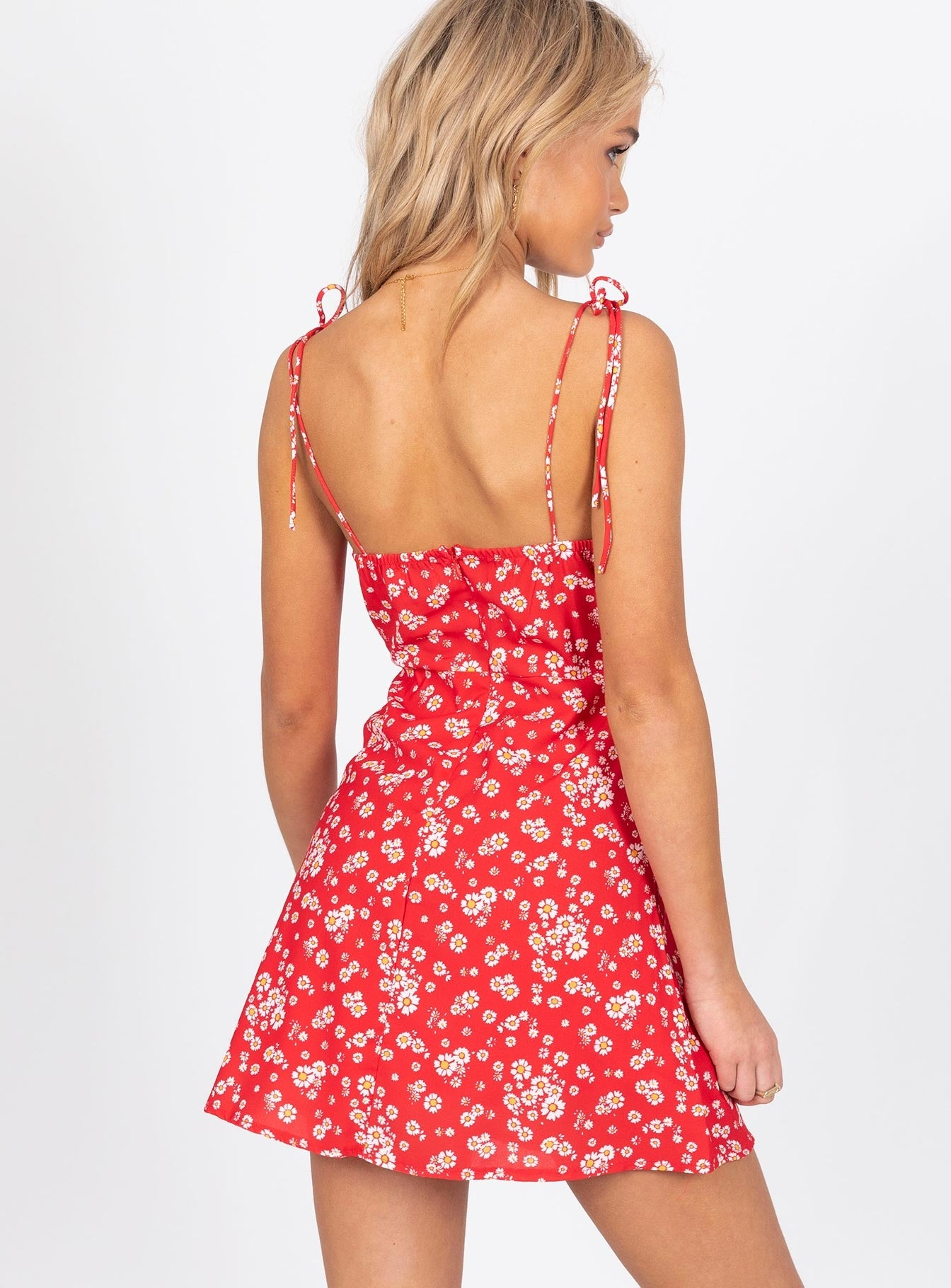 Perry Mini Dress Red