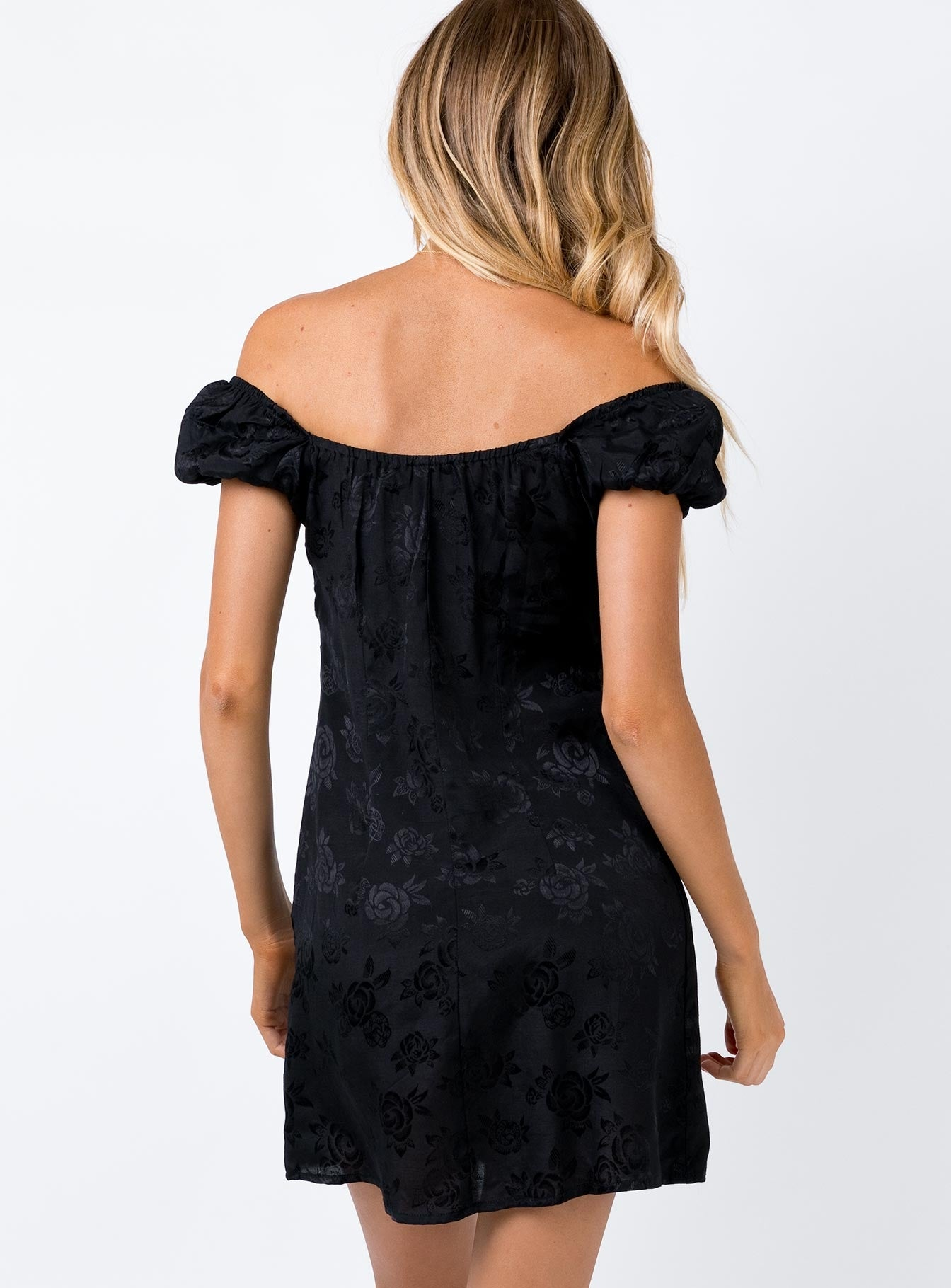 Motel Gaval Dress Black