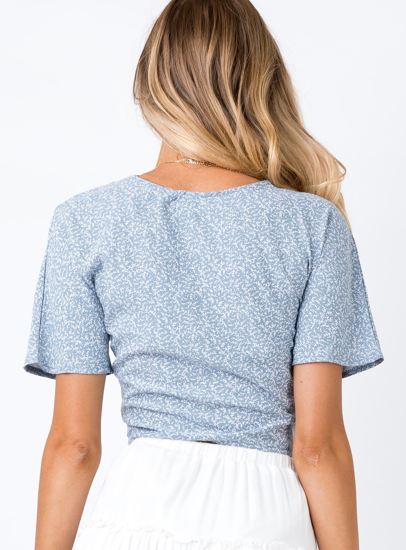 Jazzly Top Blue