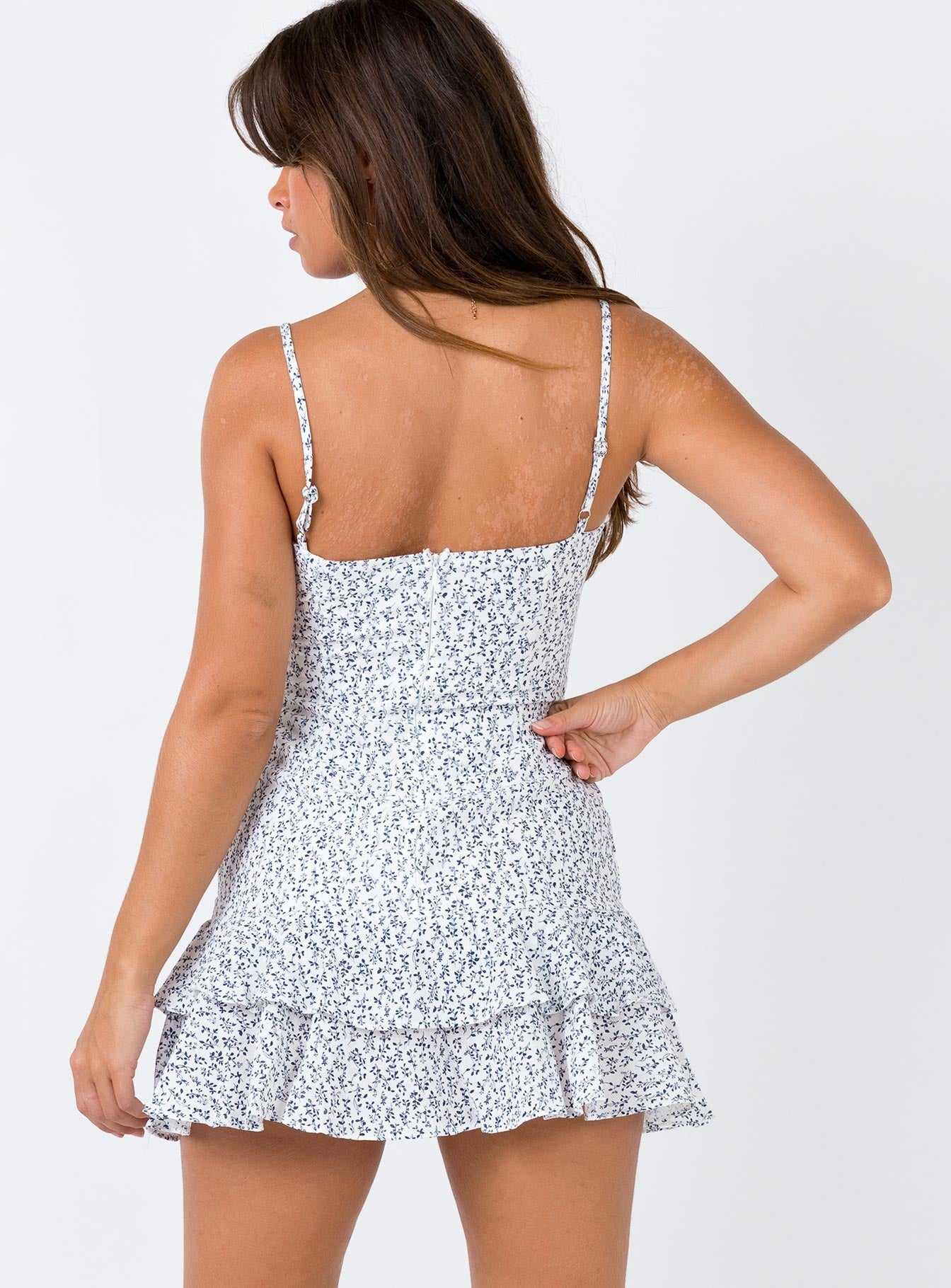 Geni Mini Dress White