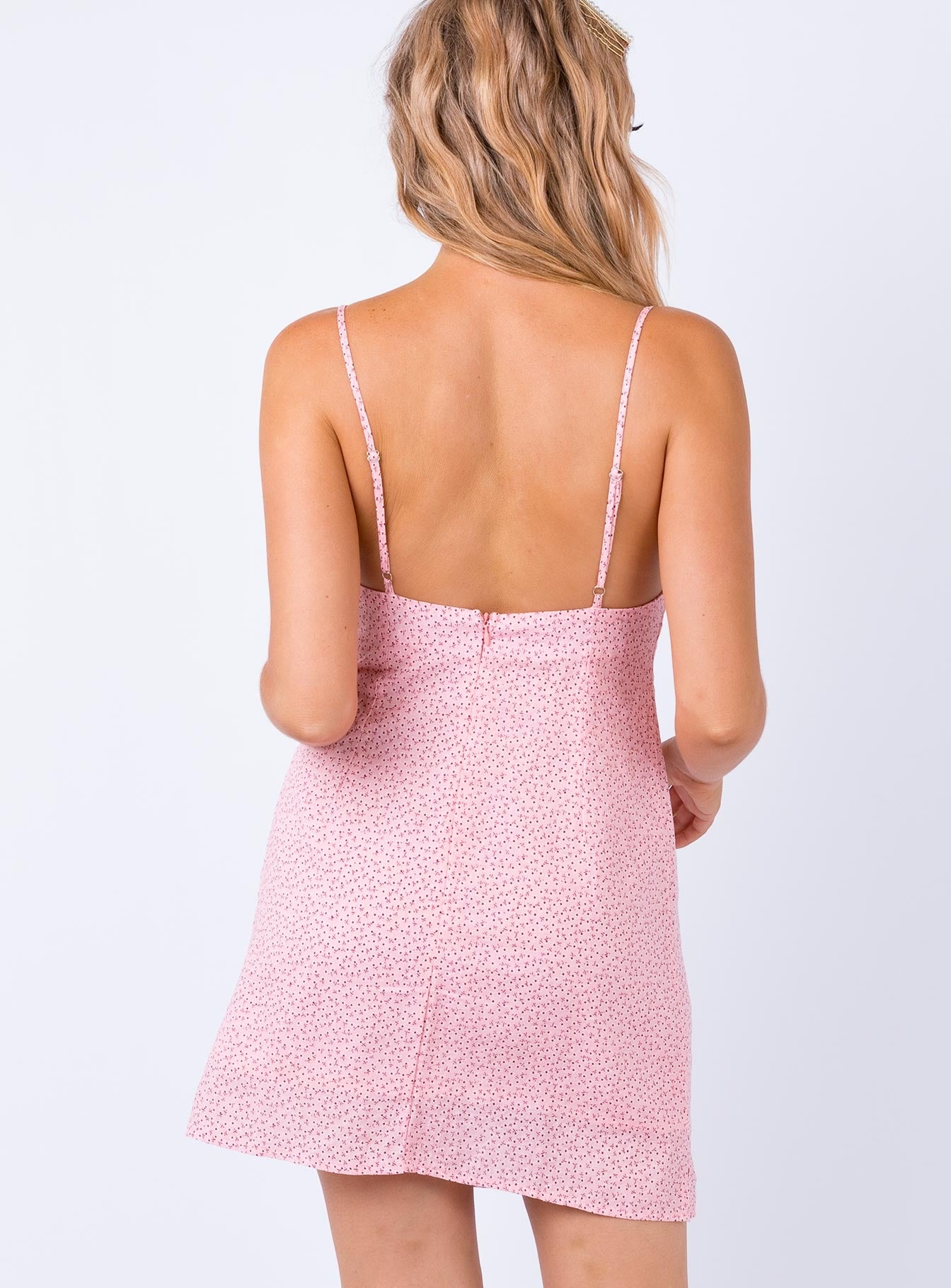 Helma Mini Dress Pink