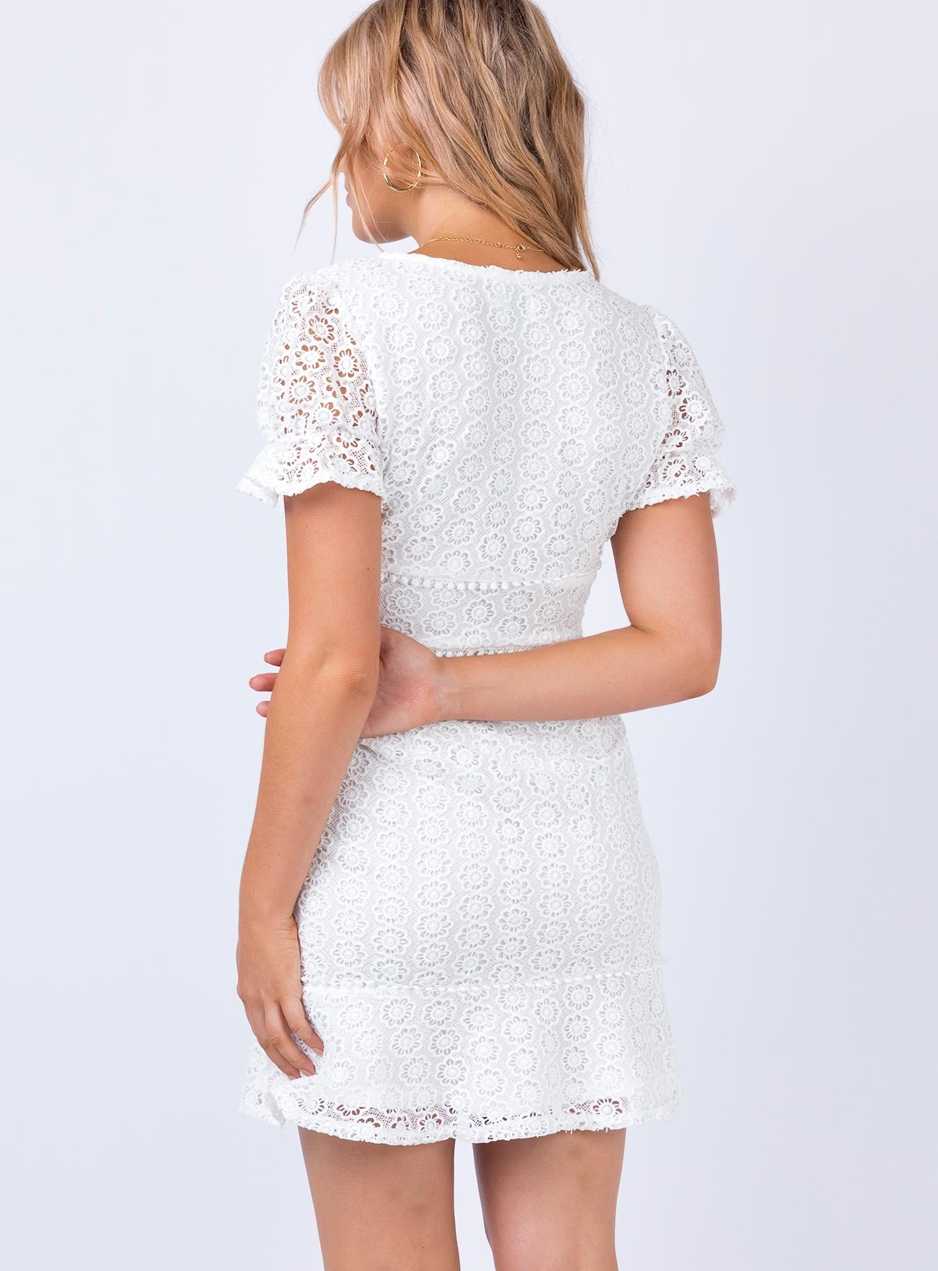 Sonny Mini Dress White